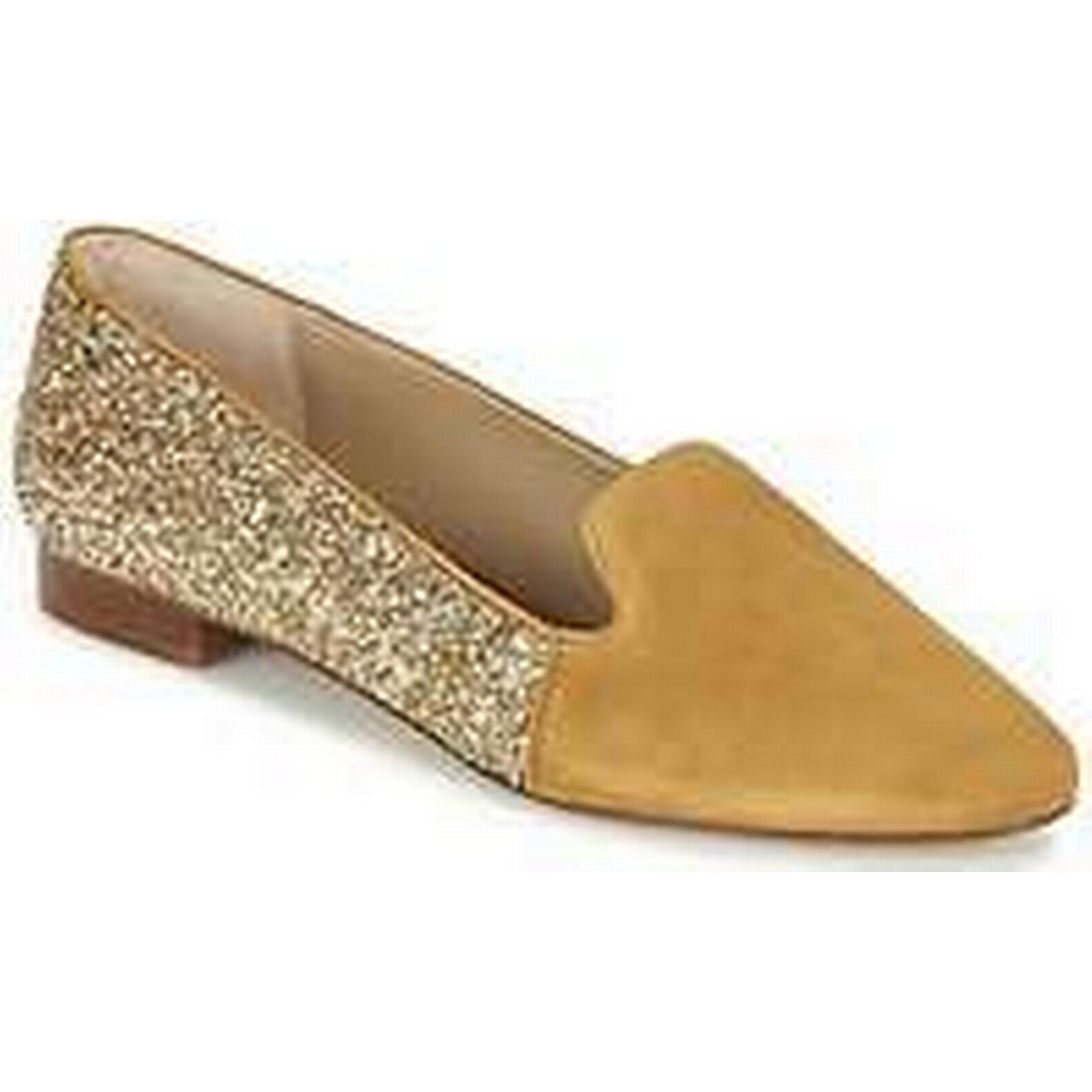 Spartoo.co.uk Anaki Casual CORAILLAN women's Loafers / Casual Anaki Shoes in Gold aaabef