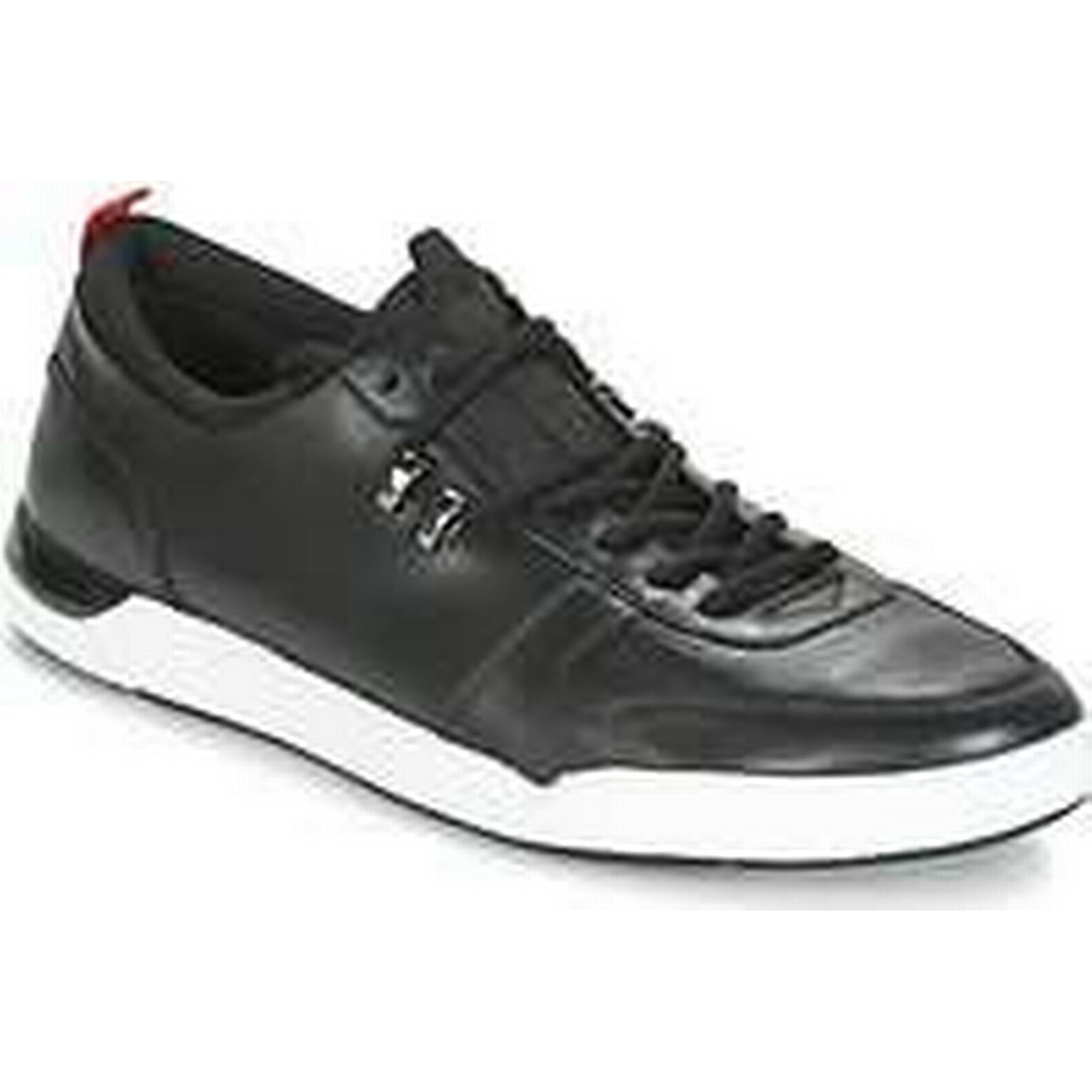 Spartoo.co.uk Shoes HUGO FUSION TENN men's Shoes Spartoo.co.uk (Trainers) in Black cba9a8