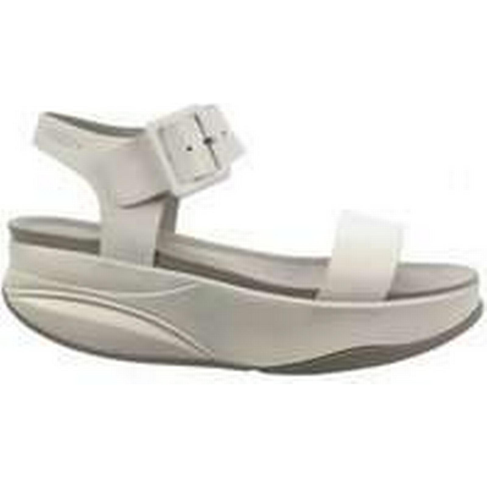 Spartoo.co.uk Mbt women's MANNI W women's Mbt Sandals in White ffabcc