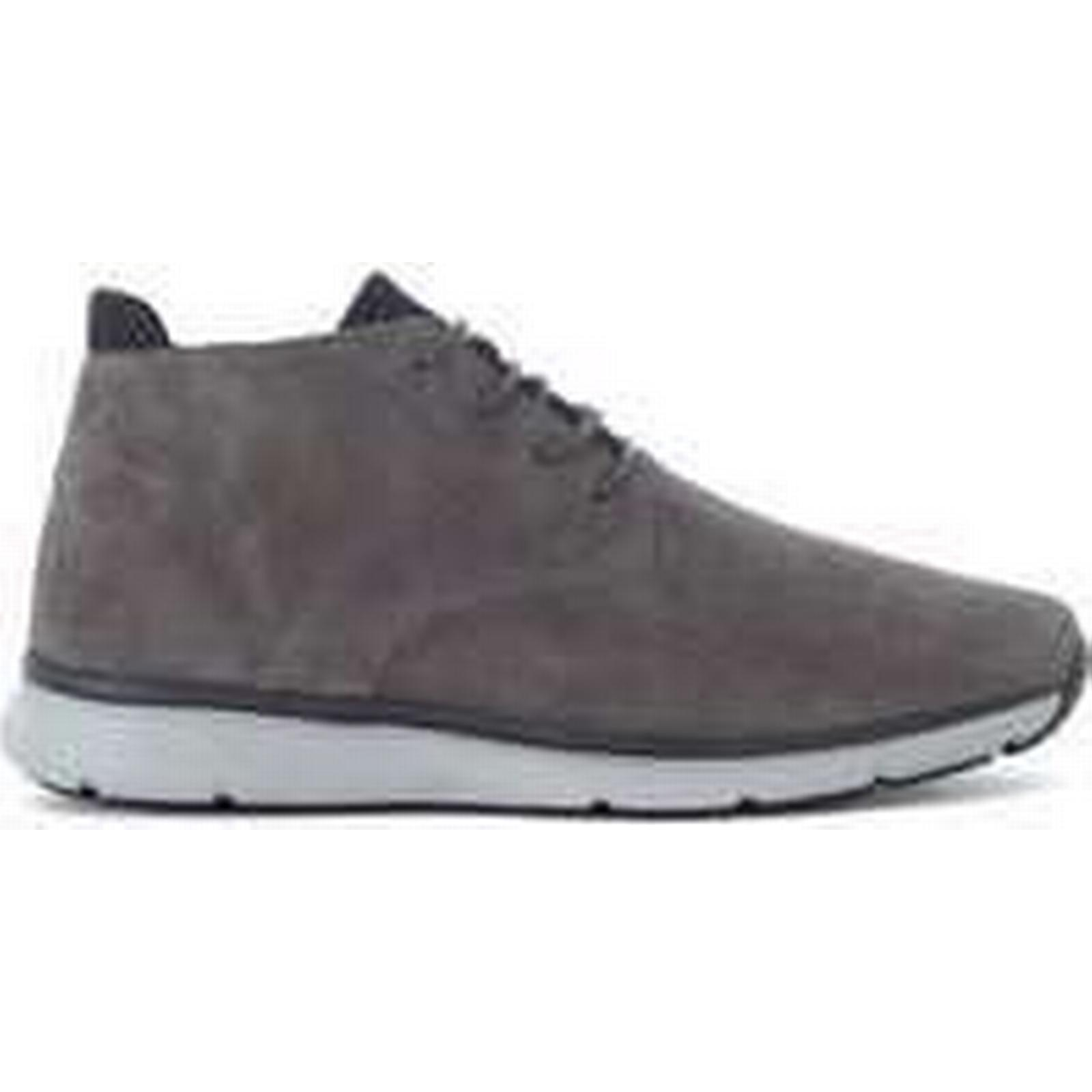 Spartoo.co.uk Hogan New Urban Style grey (Trainers) nabuk sneaker men's Shoes (Trainers) grey in Grey 7605be