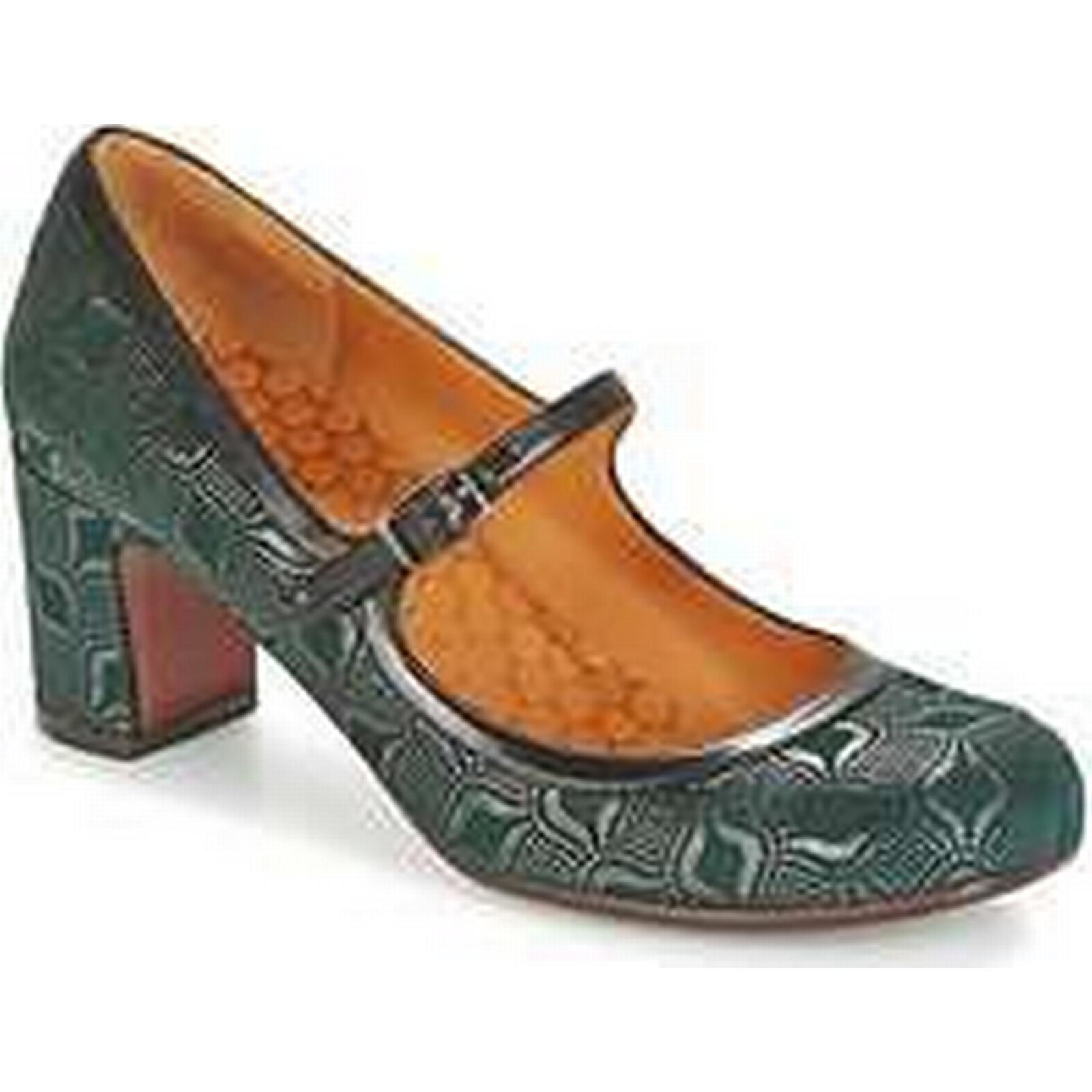 Spartoo.co.uk Court Chie Mihara HAPPO women's Court Spartoo.co.uk Shoes in Green 36d24f