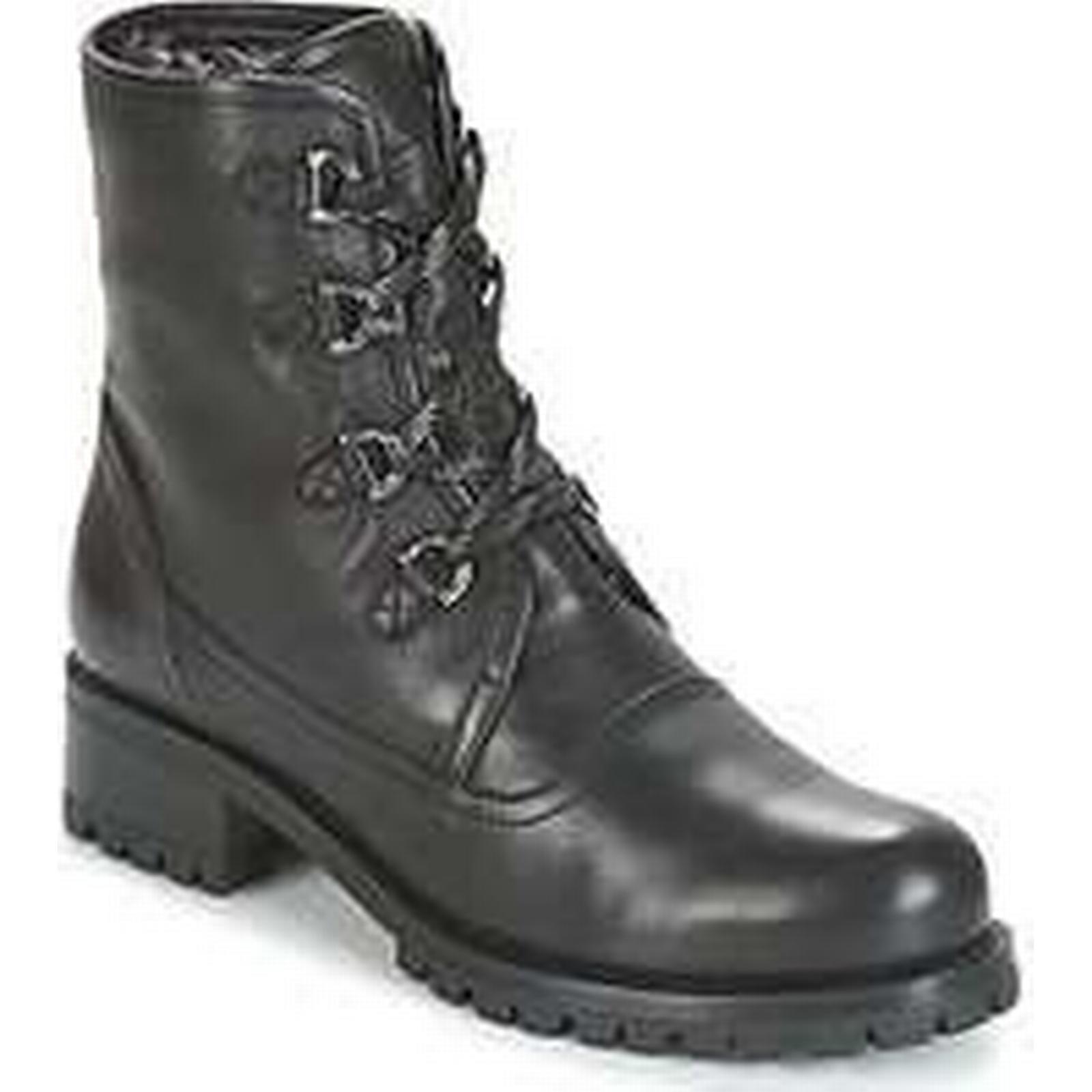 Spartoo.co.uk Unisa Mid IMUL women's Mid Unisa Boots in Black 7db7dd