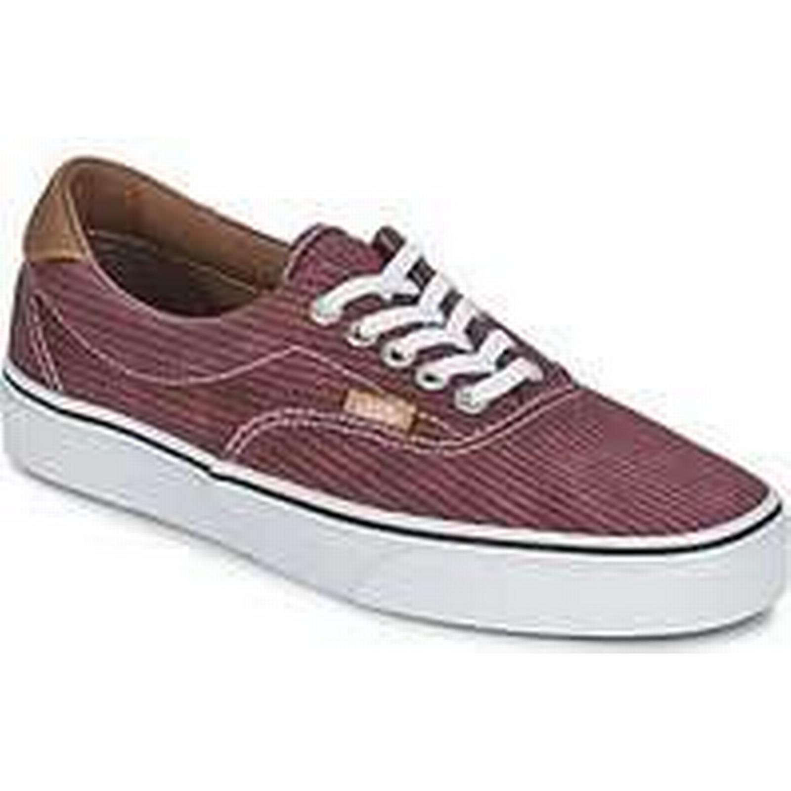 Spartoo.co.uk Shoes Vans ERA 59 women's Shoes Spartoo.co.uk (Trainers) in Red a4a400