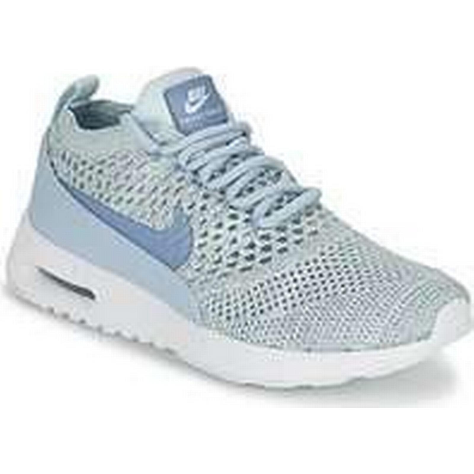 Spartoo.co.uk Nike AIR MAX THEA ULTRA FLYKNIT in W women's Shoes (Trainers) in FLYKNIT Blue 76a3a6