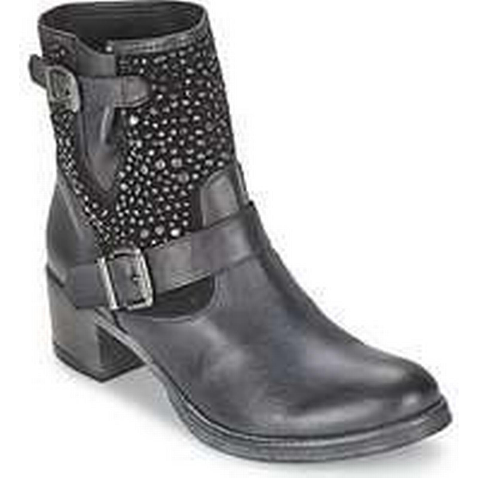 Spartoo.co.uk Meline RATA women's in Low Ankle Boots in women's Black d5def9