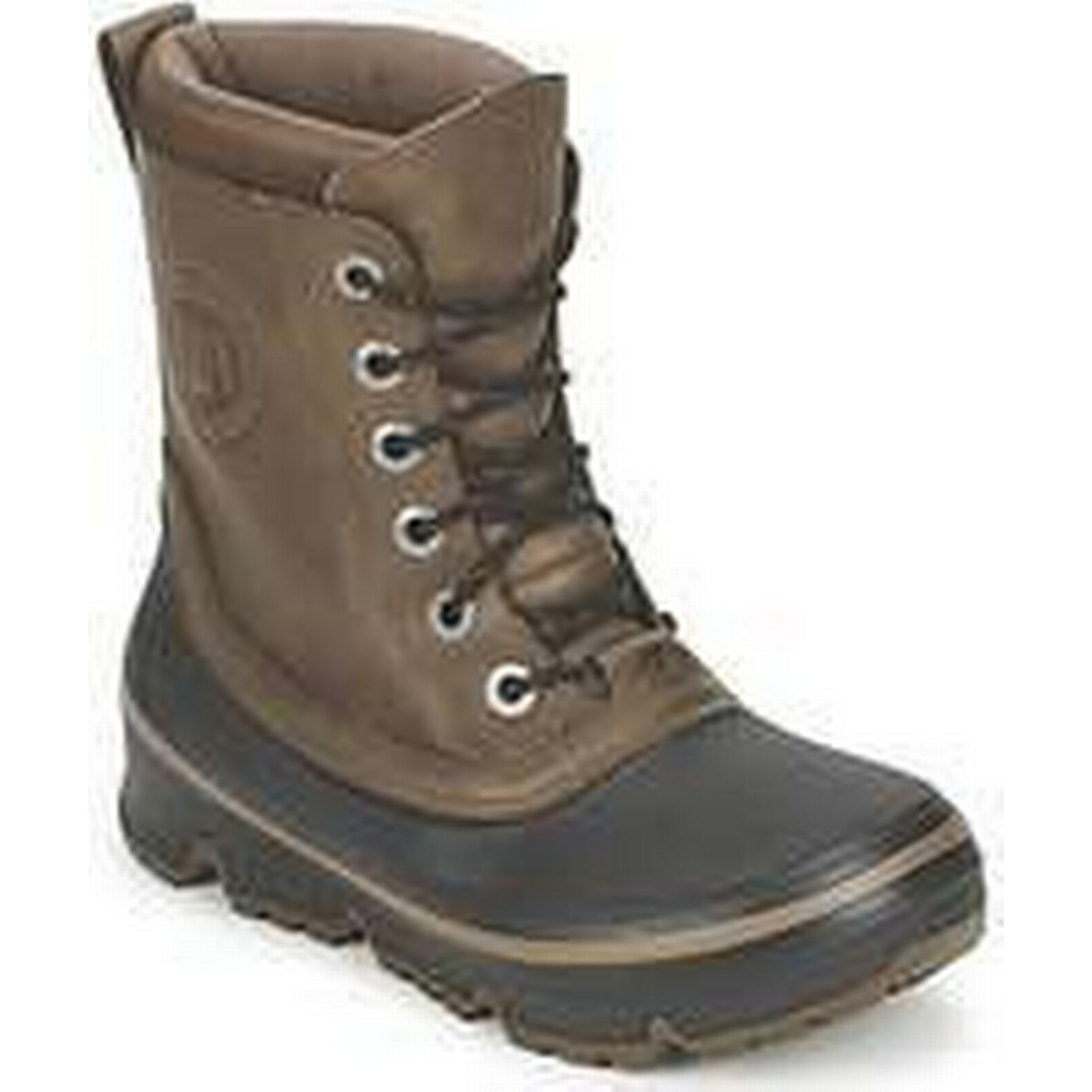 Spartoo.co.uk Tecnica SOTTOZERO F° men's Brown Snow boots in Brown men's 650e8c