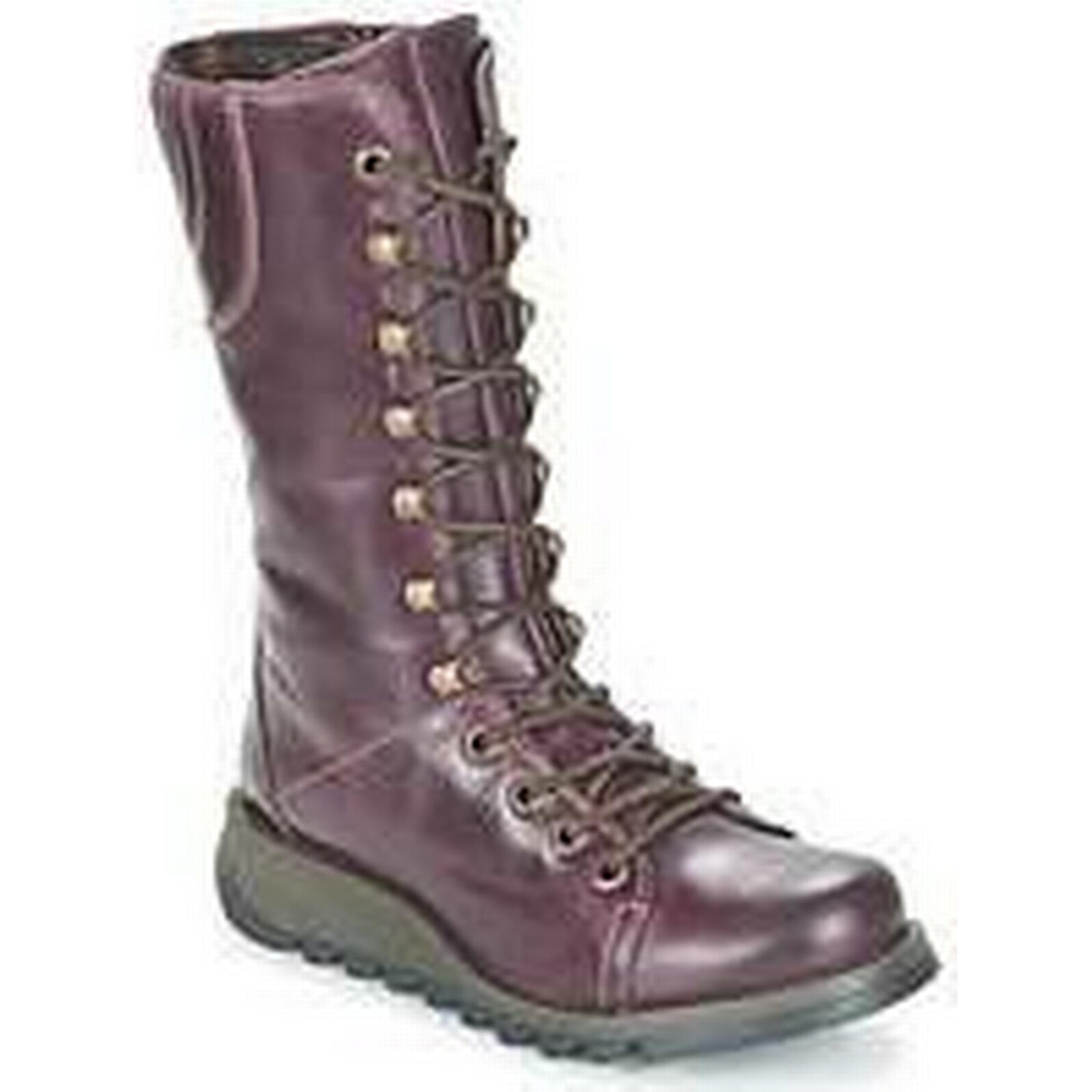 Spartoo.co.uk High Fly London STER women's High Spartoo.co.uk Boots in Purple 28c994