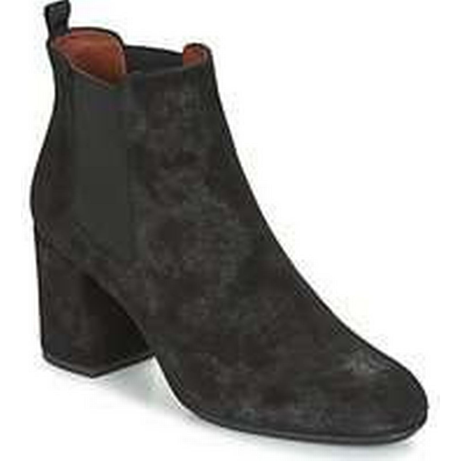 5a9e7f359 Spartoo.co.uk Hispanitas GENNA women s Low Ankle Boots in in in Black  df3622 ...