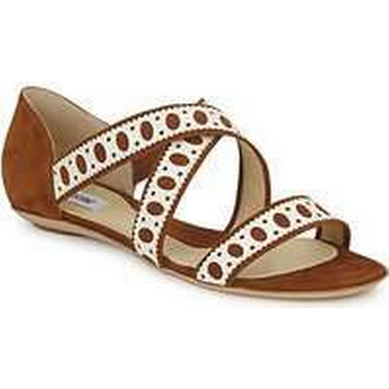 Spartoo.co.uk Moschino women's DELOS SAND women's Moschino Sandals in Brown 73870b