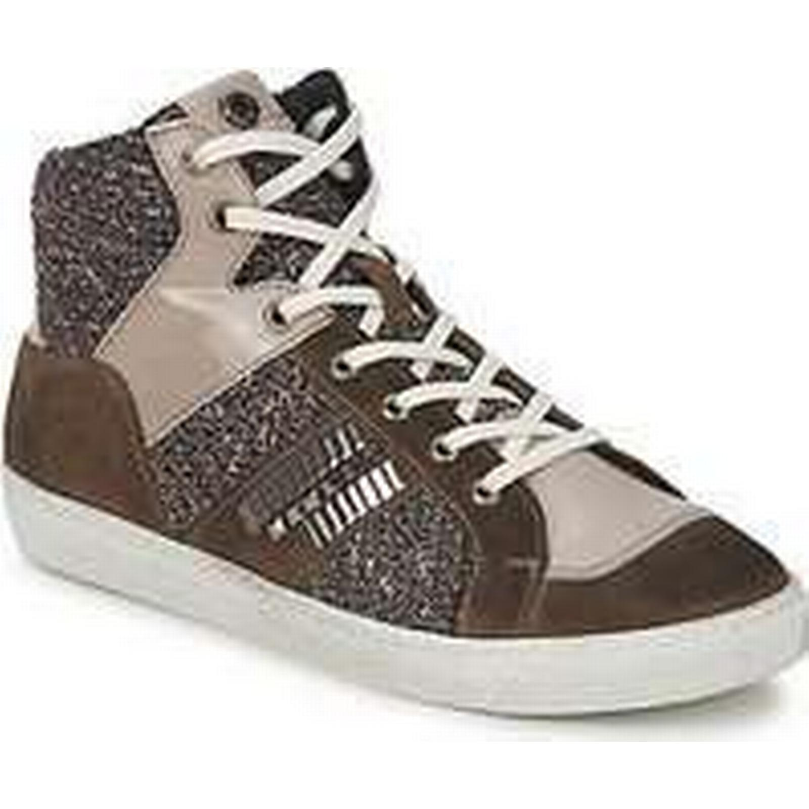 Spartoo.co.uk Janet Sport Trainers) ERICMARTIN women's Shoes (High-top Trainers) Sport in Brown 2d5c47