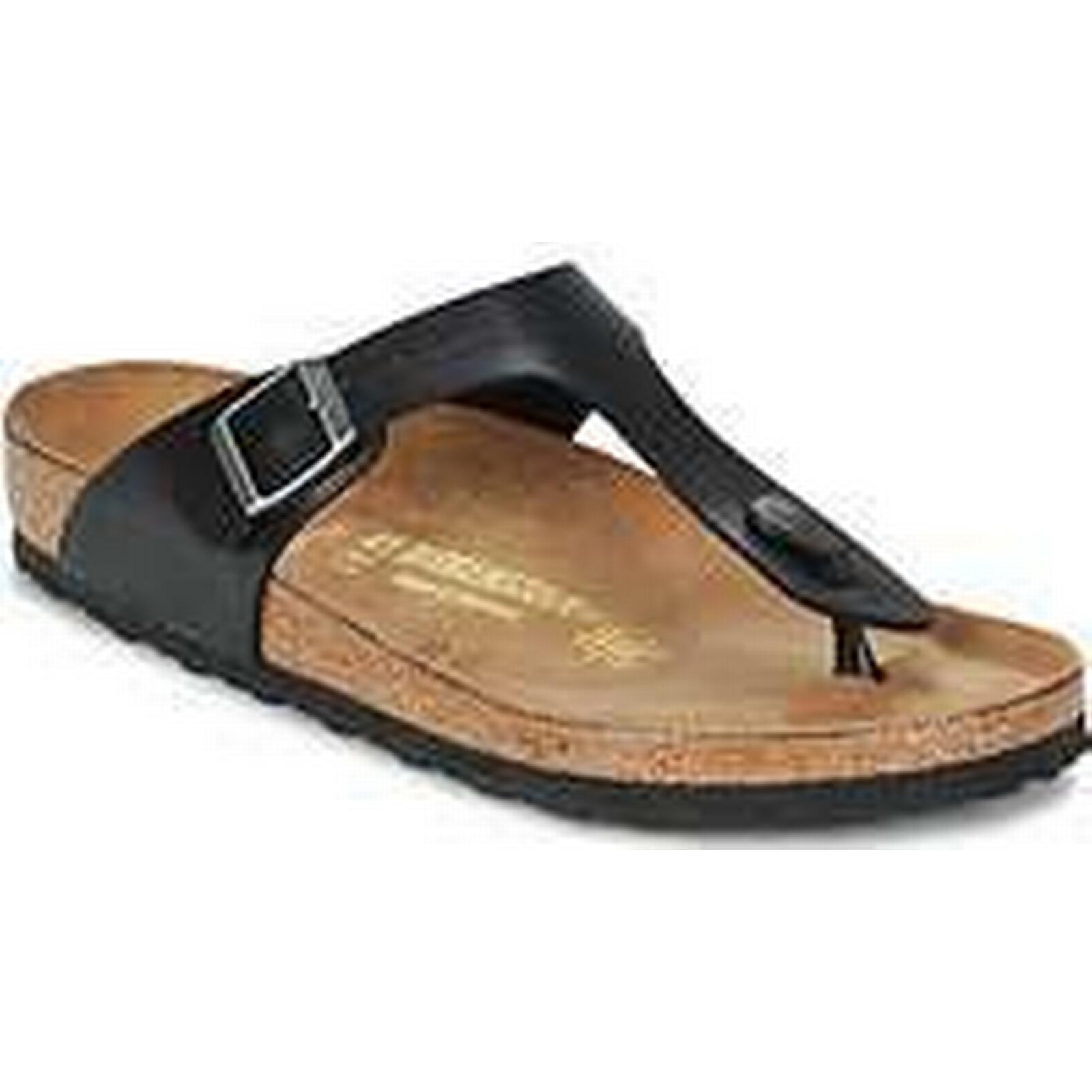 Spartoo.co.uk / Birkenstock GIZEH women's Flip flops / Spartoo.co.uk Sandals (Shoes) in Black fea93e