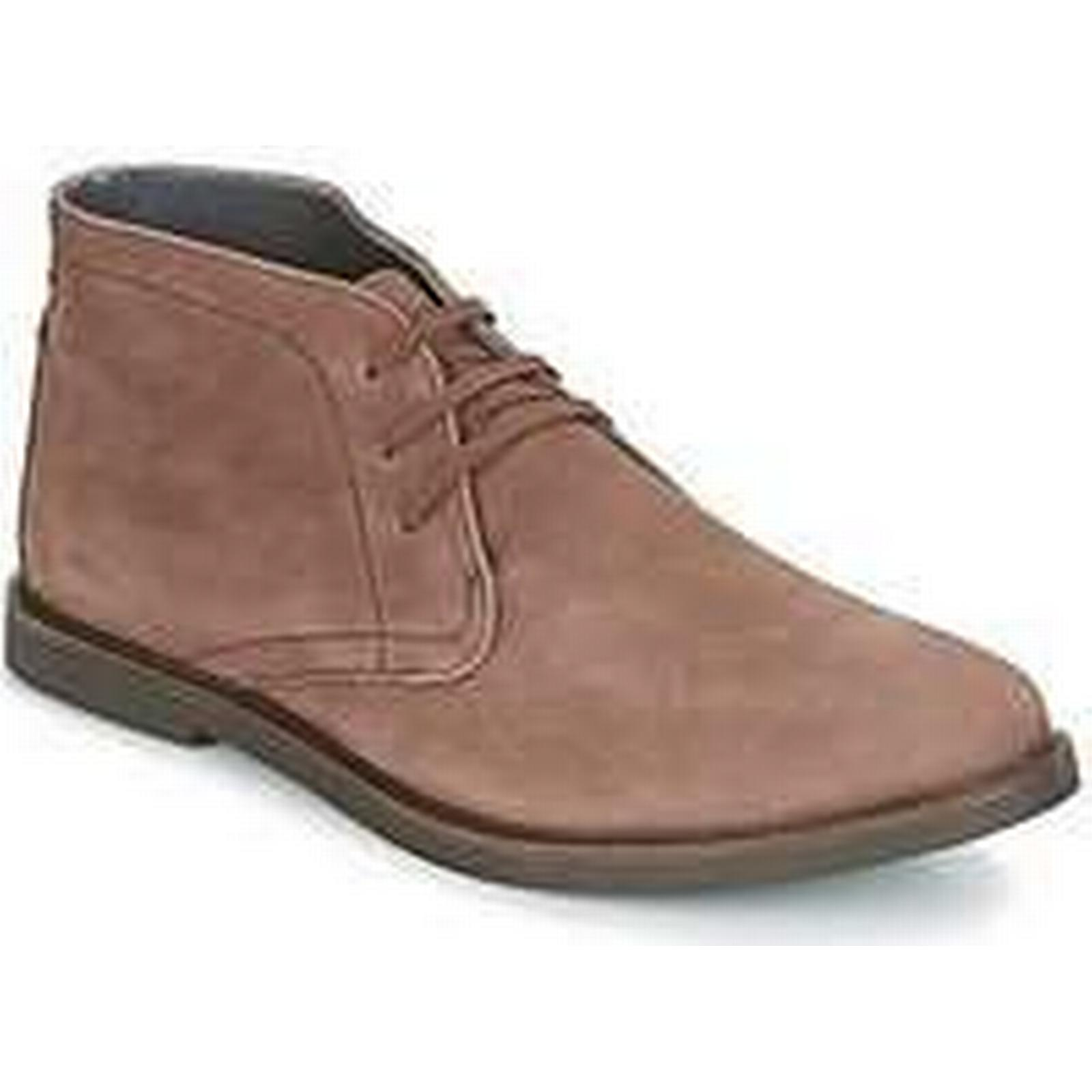 Spartoo.co.uk Frank Wright BATH men's Brown Mid Boots in Brown men's 8a11b5