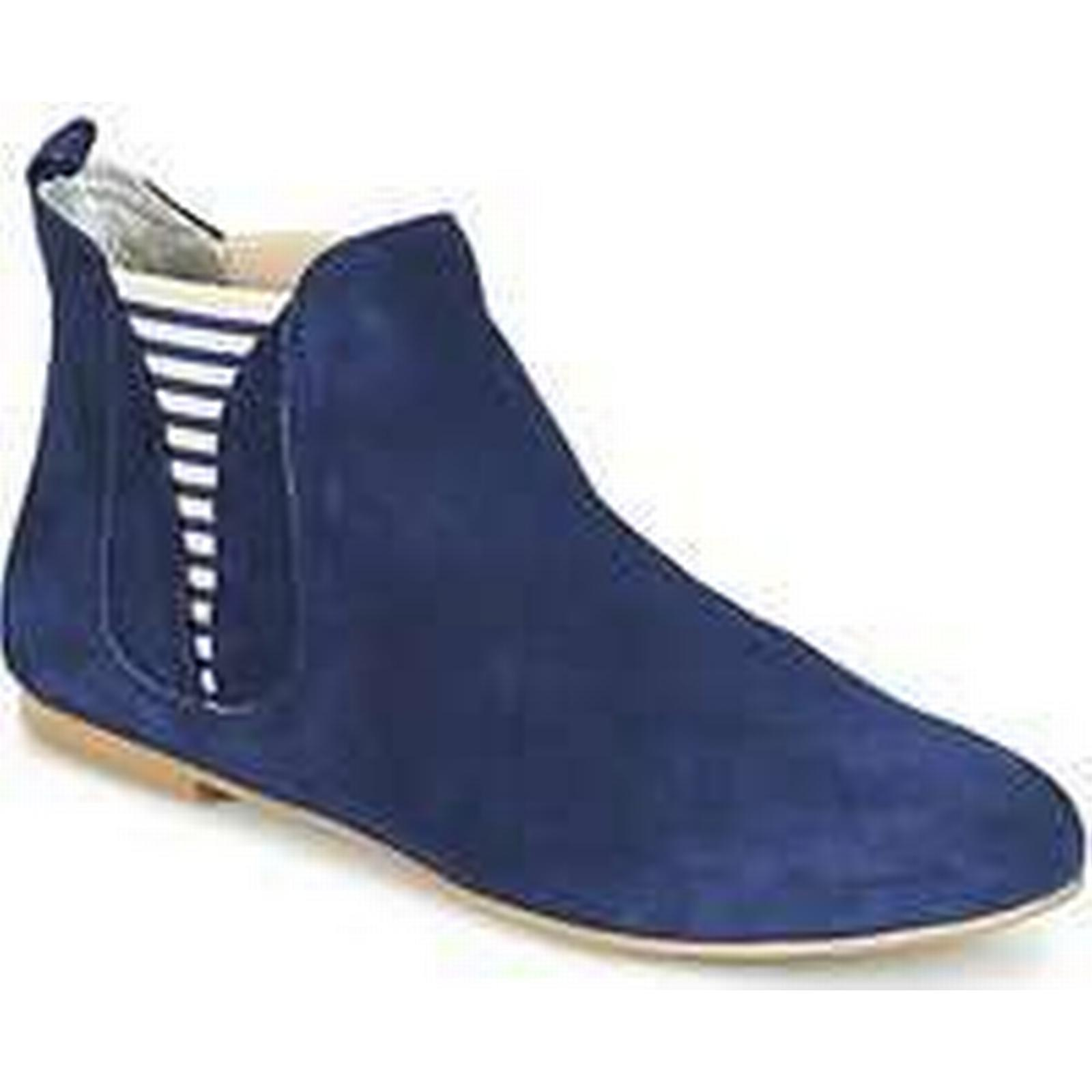 Spartoo.co.uk Ippon Mid Vintage SUN FLYBOAT women's Mid Ippon Boots in Blue 77c75e