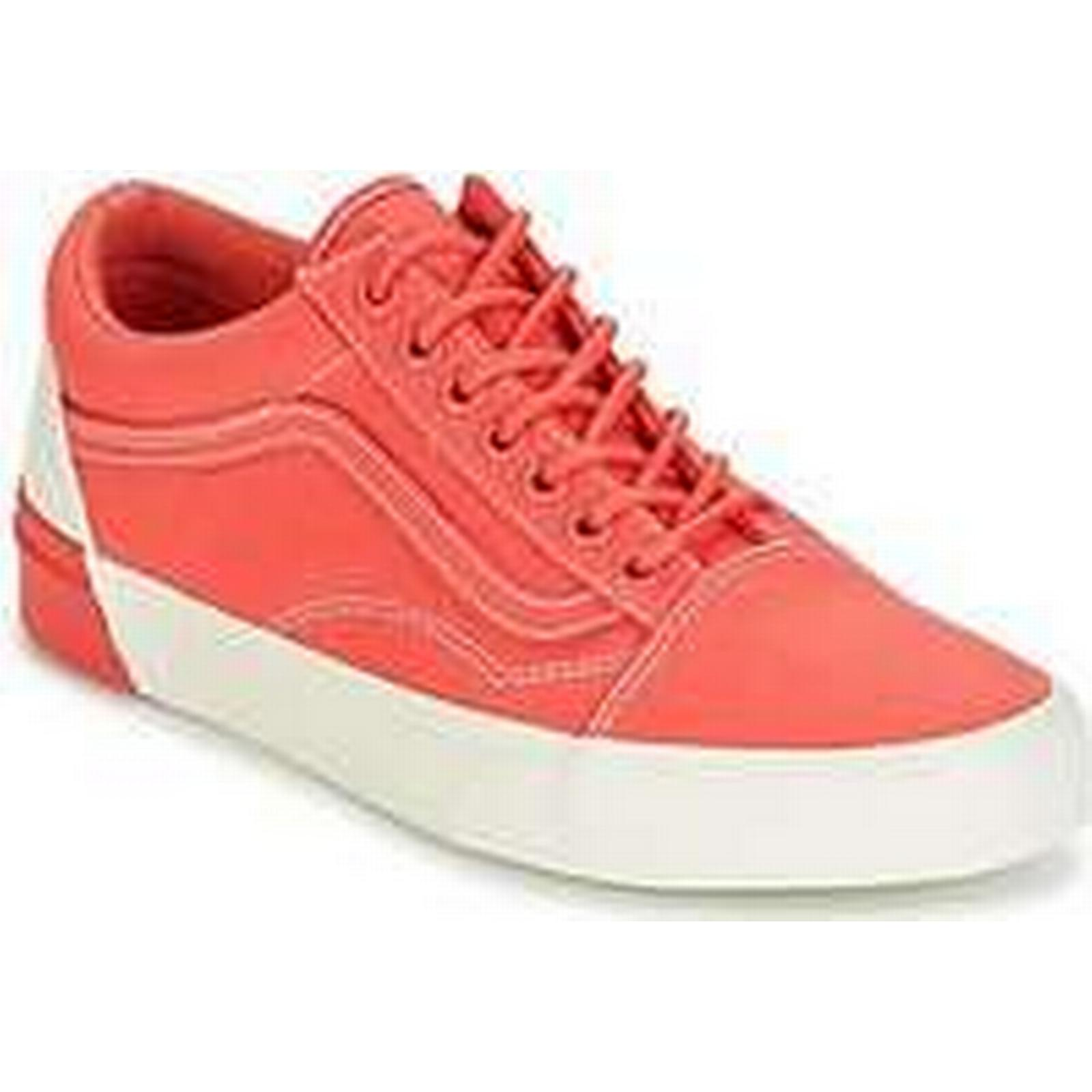 Spartoo.co.uk DX Vans UA OLD SKOOL DX Spartoo.co.uk women's Shoes (Trainers) in Orange 55b151