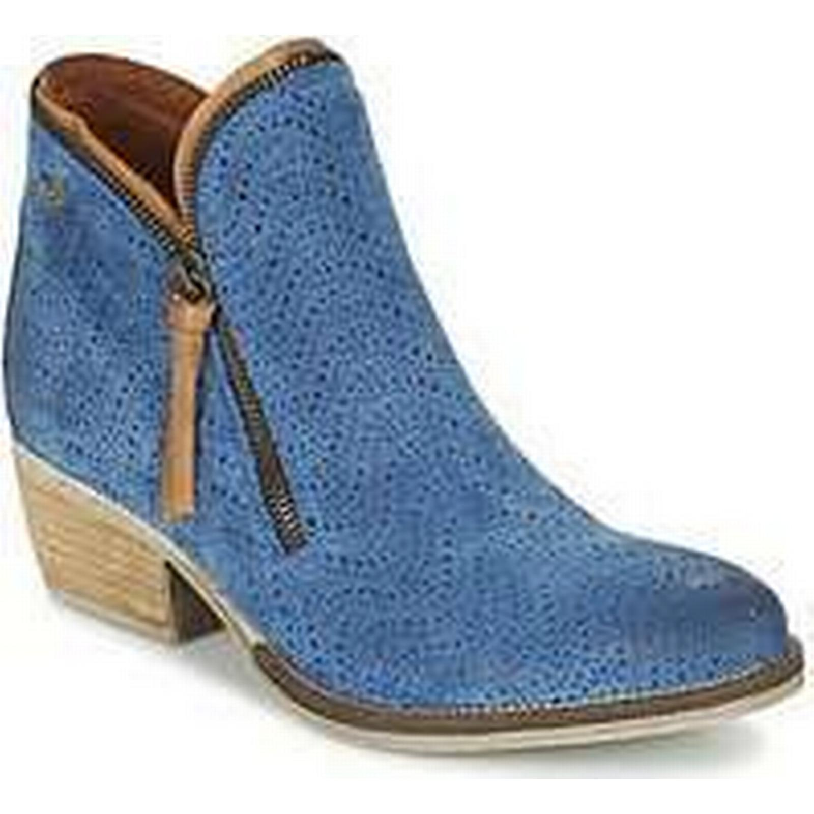 Spartoo.co.uk Coqueterra LIZZY Boots women's Mid Boots LIZZY in Blue cba546