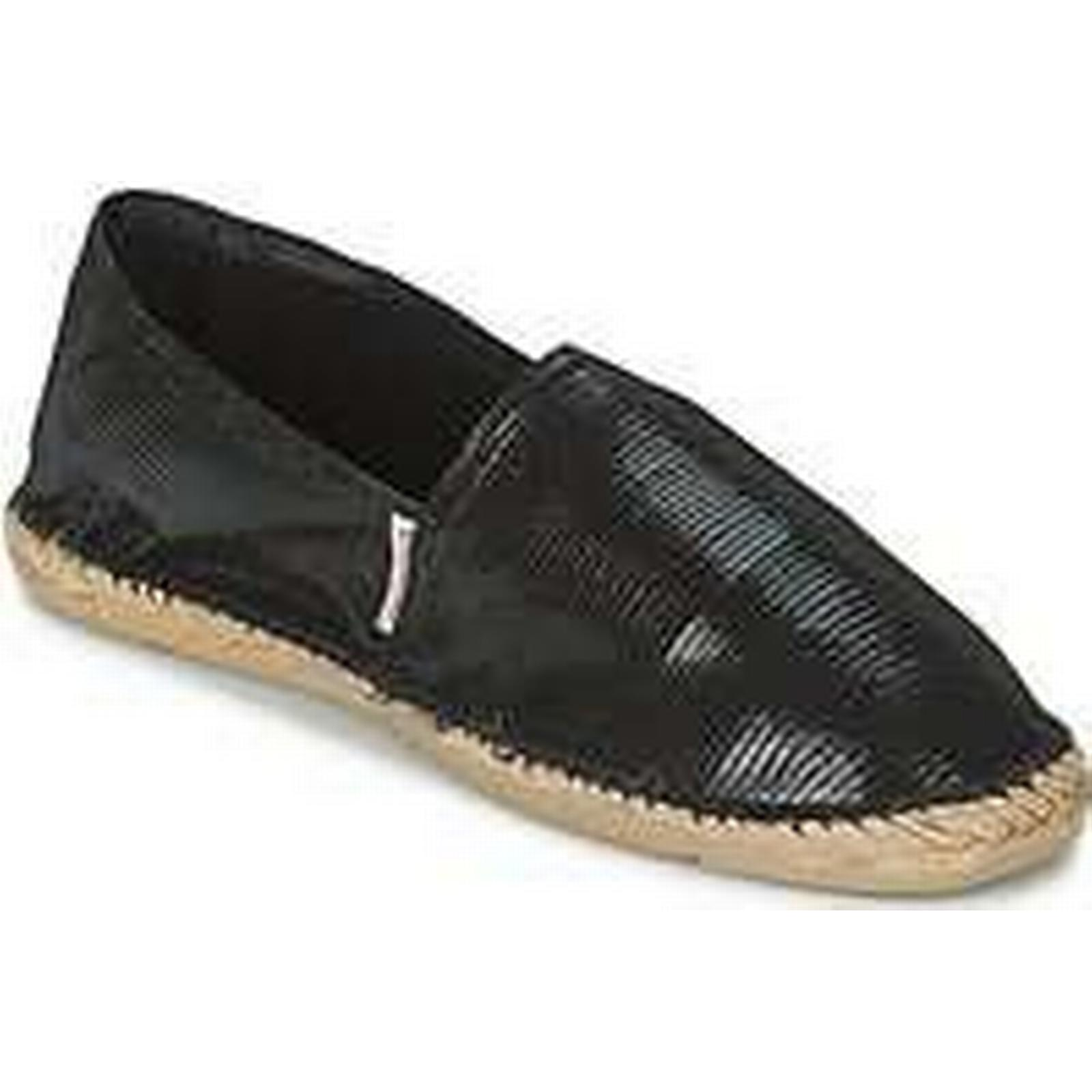 Spartoo.co.uk Pare Gabia VP CUIR women's in Espadrilles / Casual Shoes in women's Black 15eff2
