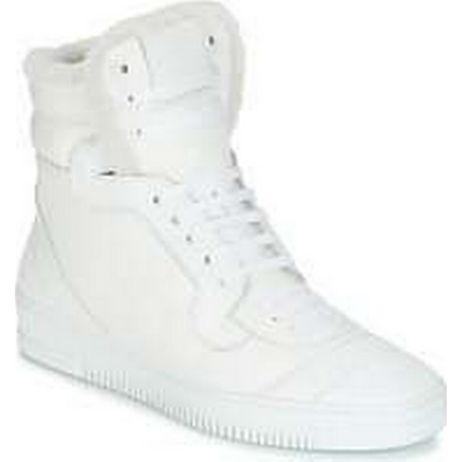 Spartoo.co.uk John Galliano FANA men's White Shoes (High-top Trainers) in White men's 2bbde7