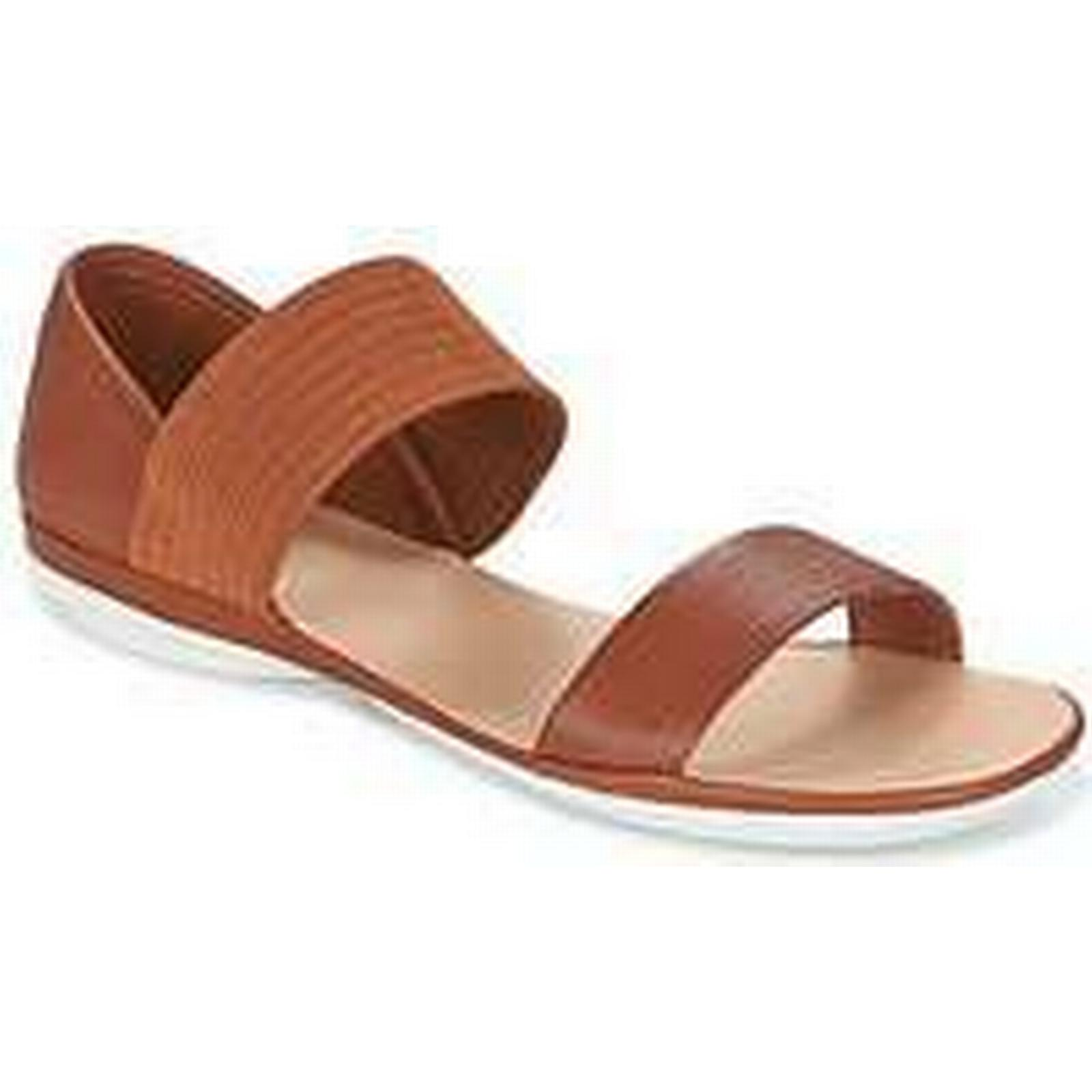 Spartoo.co.uk Camper RIGHT NINA women's Brown Sandals in Brown women's e9c4b3