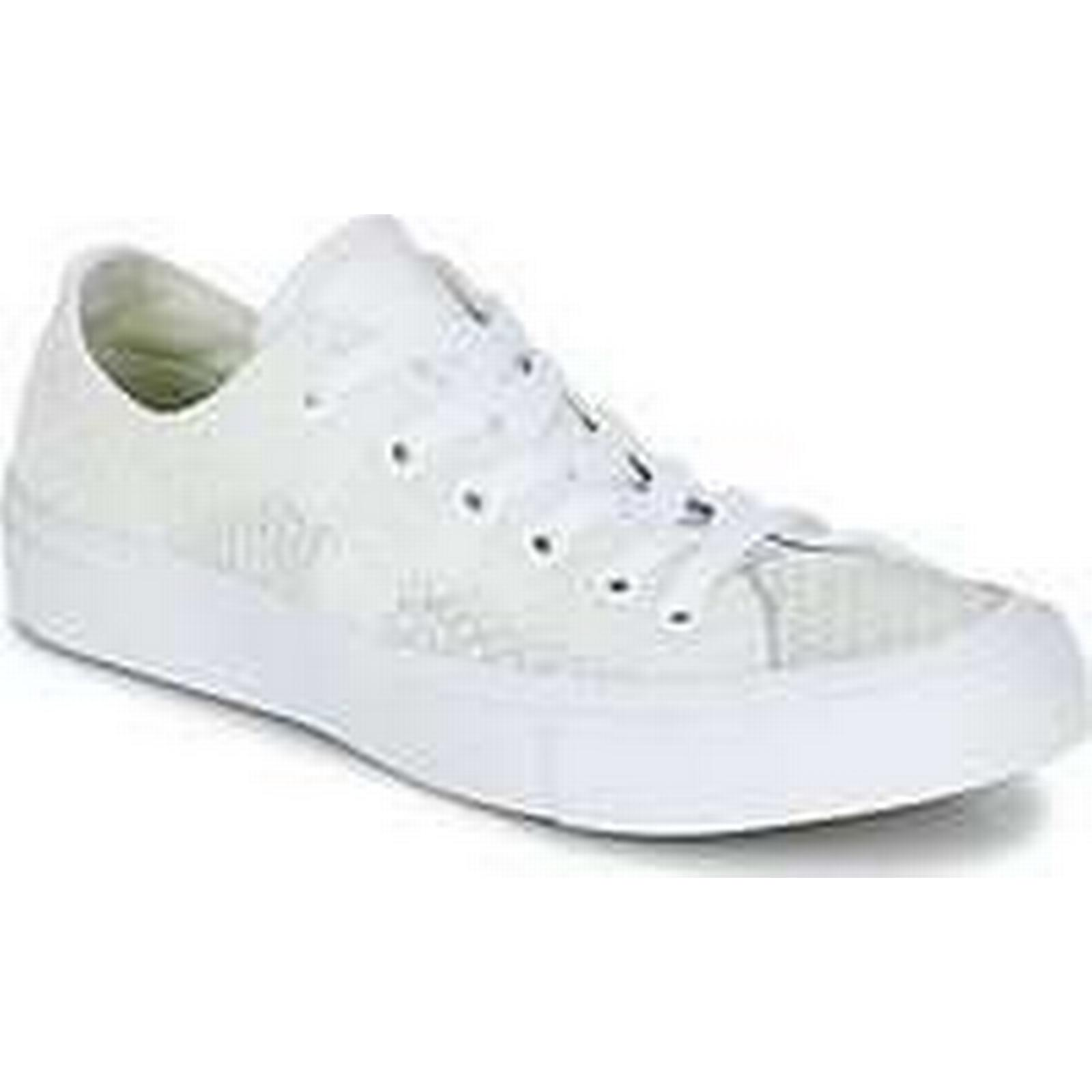 Spartoo.co.uk Converse CHUCK TAYLOR ALL KNIT STAR II FESTIVAL TPU KNIT ALL OX women's Shoes (Trainers) in White 184d95