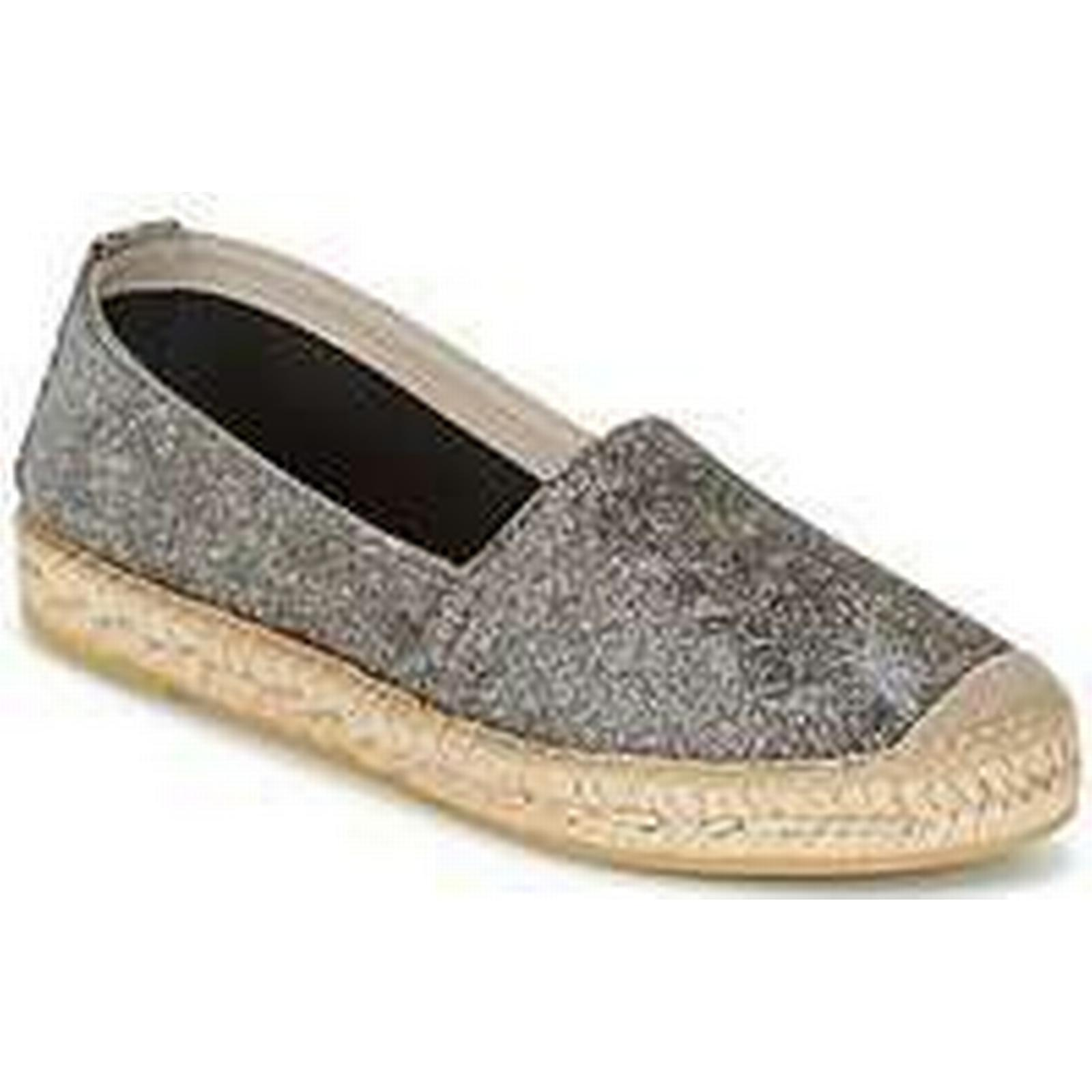 Spartoo.co.uk Nome Footwear GRAPHI Shoes women's Espadrilles / Casual Shoes GRAPHI in Silver ee922a