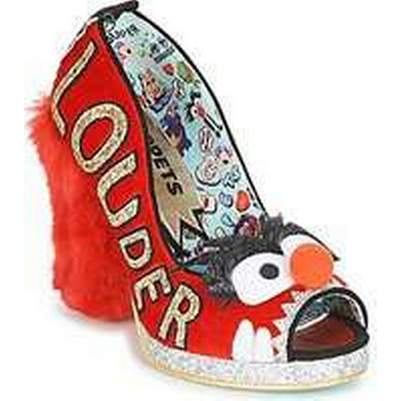 Spartoo.co.uk Irregular Choice LOUDER! women's Red Court Shoes in Red women's b85d5d