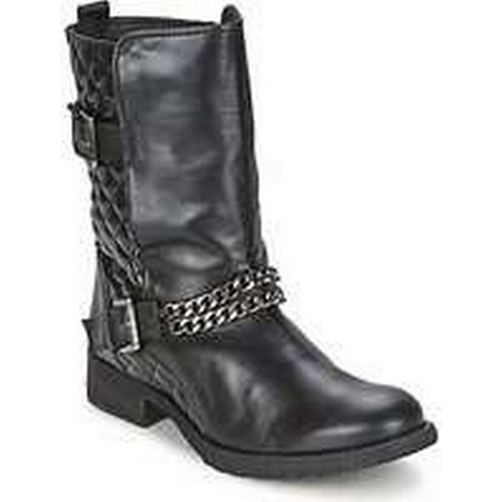 Spartoo.co.uk Alba Moda STOULE in women's Mid Boots in STOULE Black 1c3a25