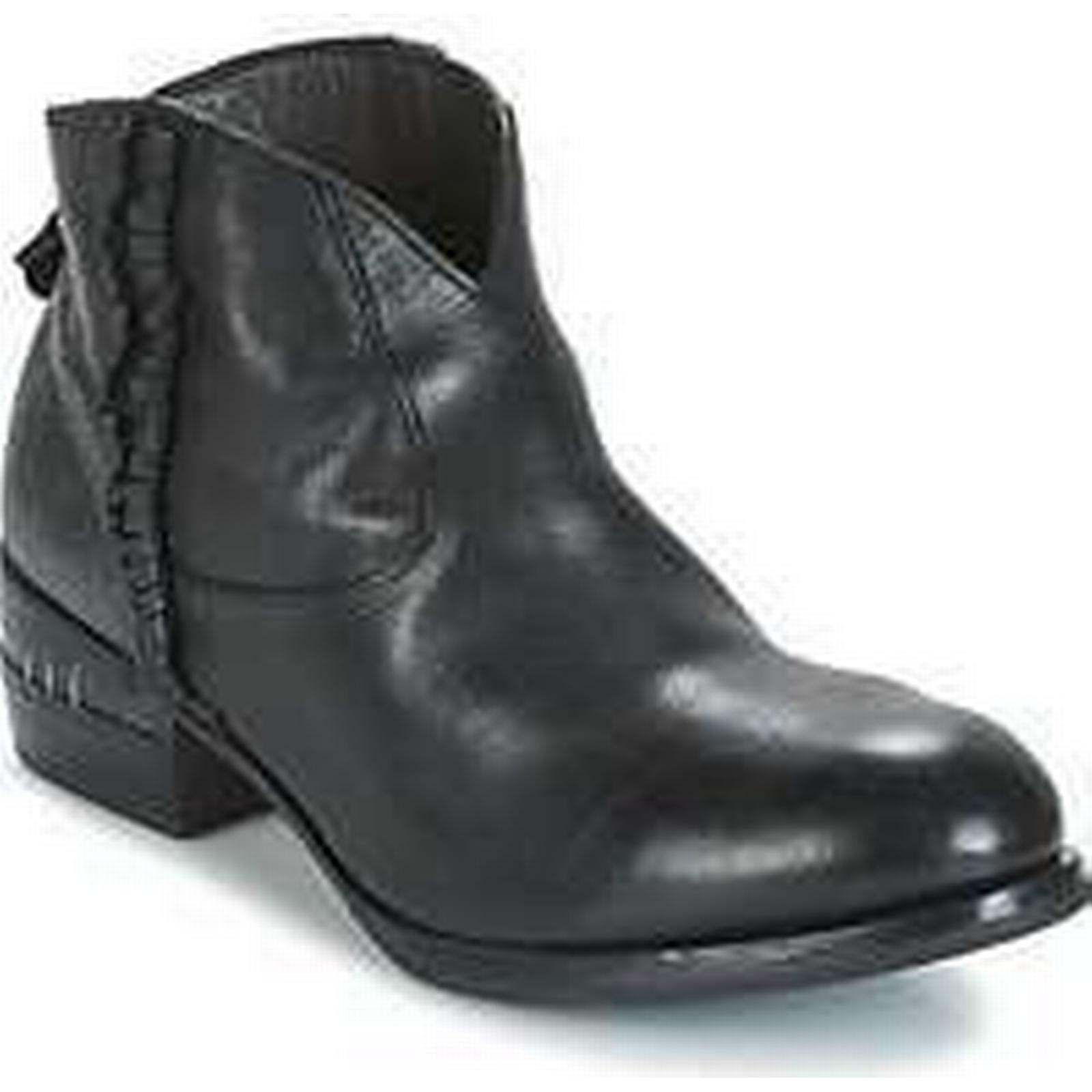 Spartoo.co.uk Moma CUSNA NERO/ DORICO in NERO women's Mid Boots in DORICO Black b70c57