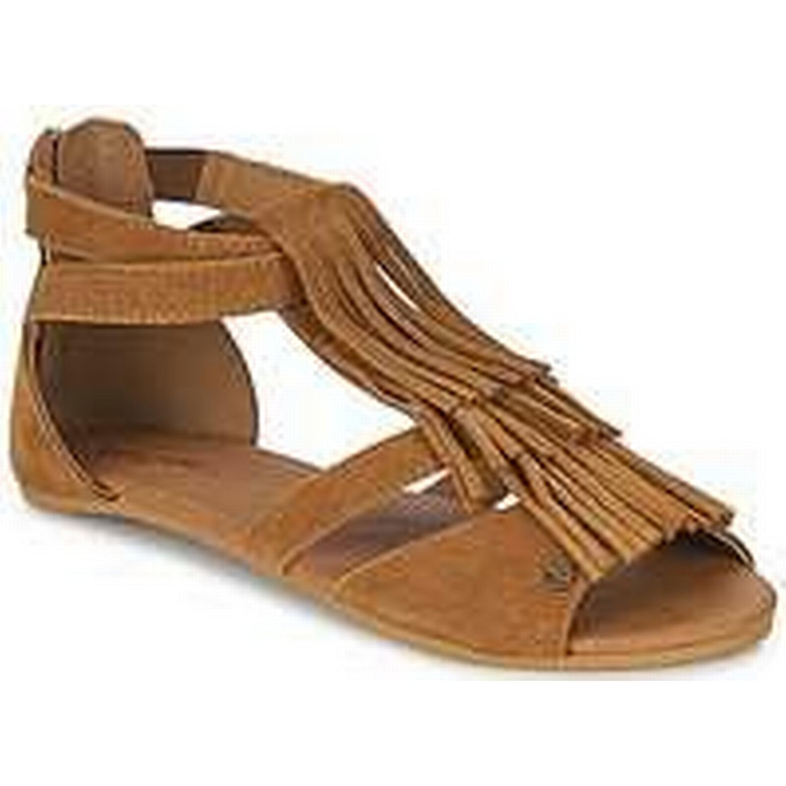 Spartoo.co.uk Volcom in BACKSTAGE SNDL women's Sandals in Volcom Brown 2d707e