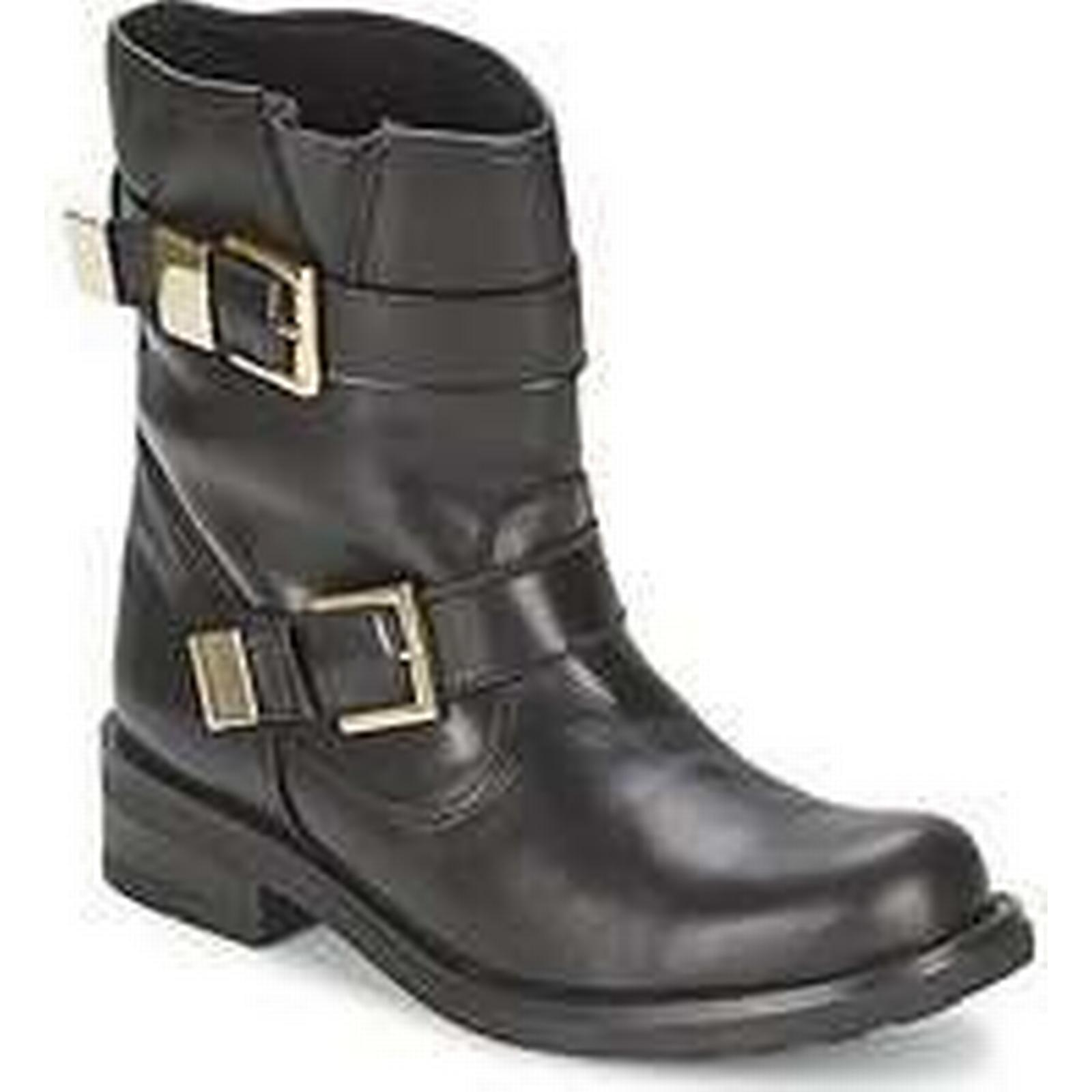 Spartoo.co.uk Mid Casual Attitude NUMYE women's Mid Spartoo.co.uk Boots in Black 5481d7