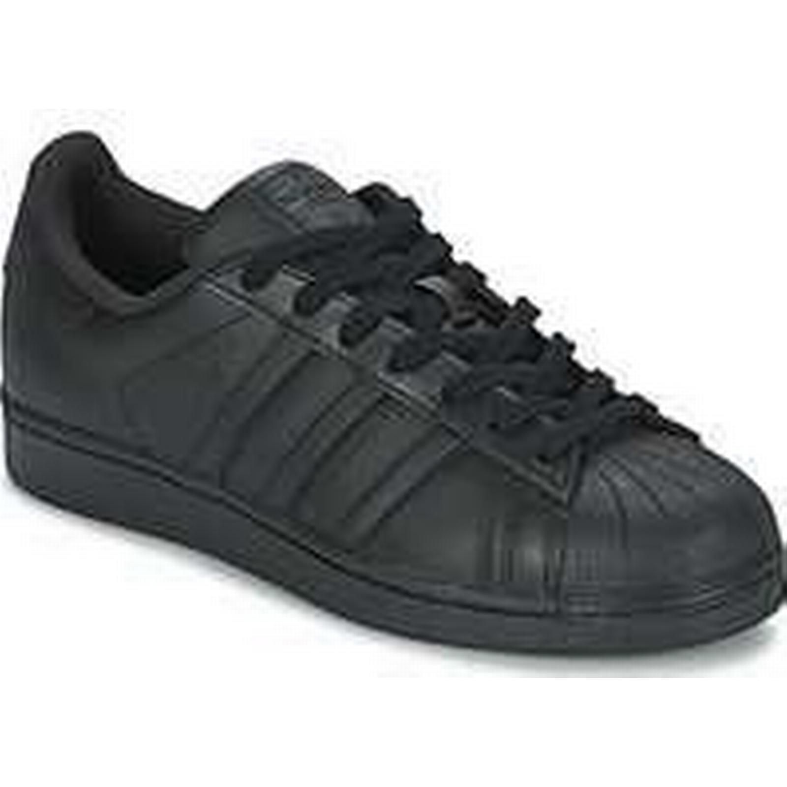 Spartoo.co.uk adidas SUPERSTAR in FOUNDATIO men's Shoes (Trainers) in SUPERSTAR Black 17876e