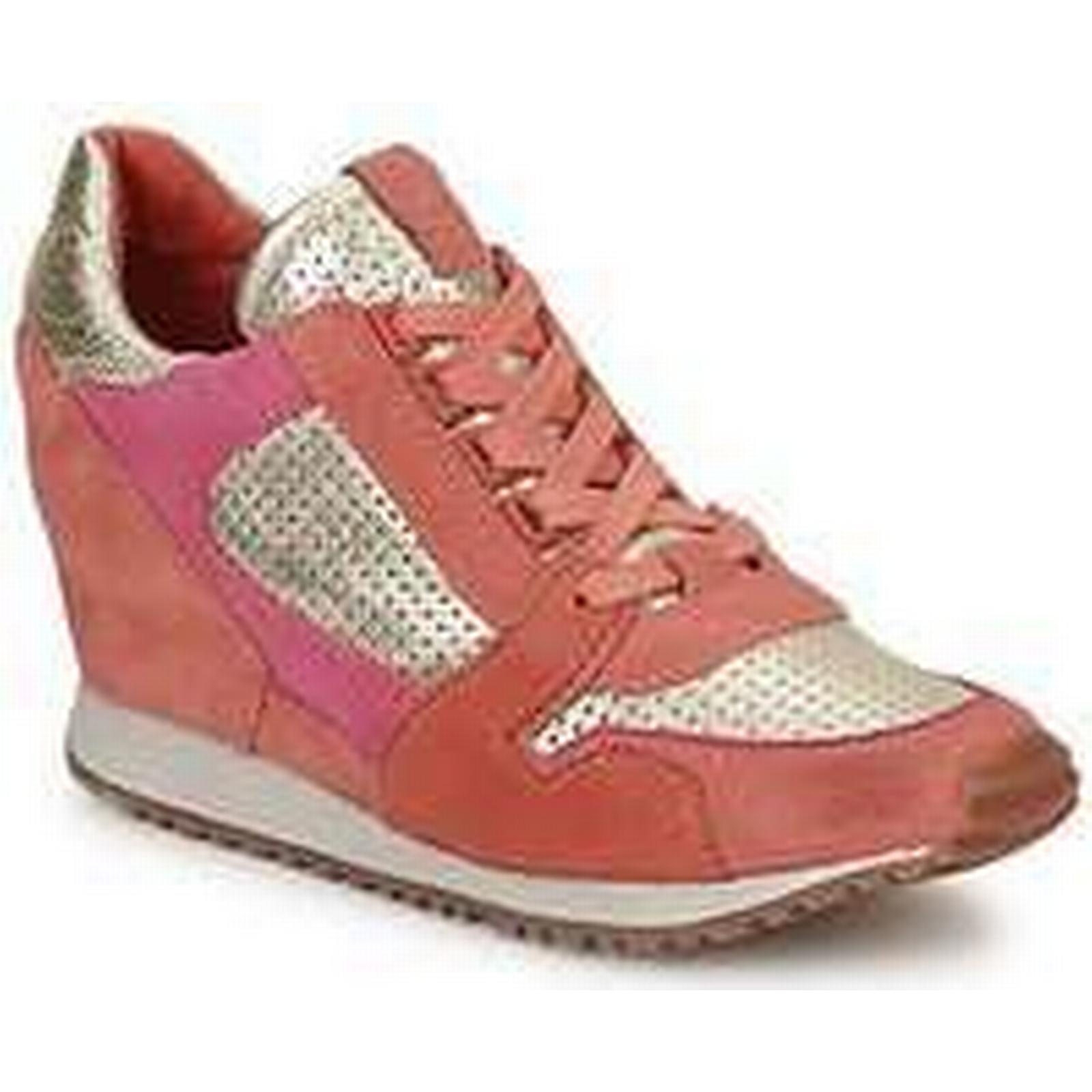 Spartoo.co.uk Ash (Trainers) DEAN BIS women's Shoes (Trainers) Ash in Gold 73bec9