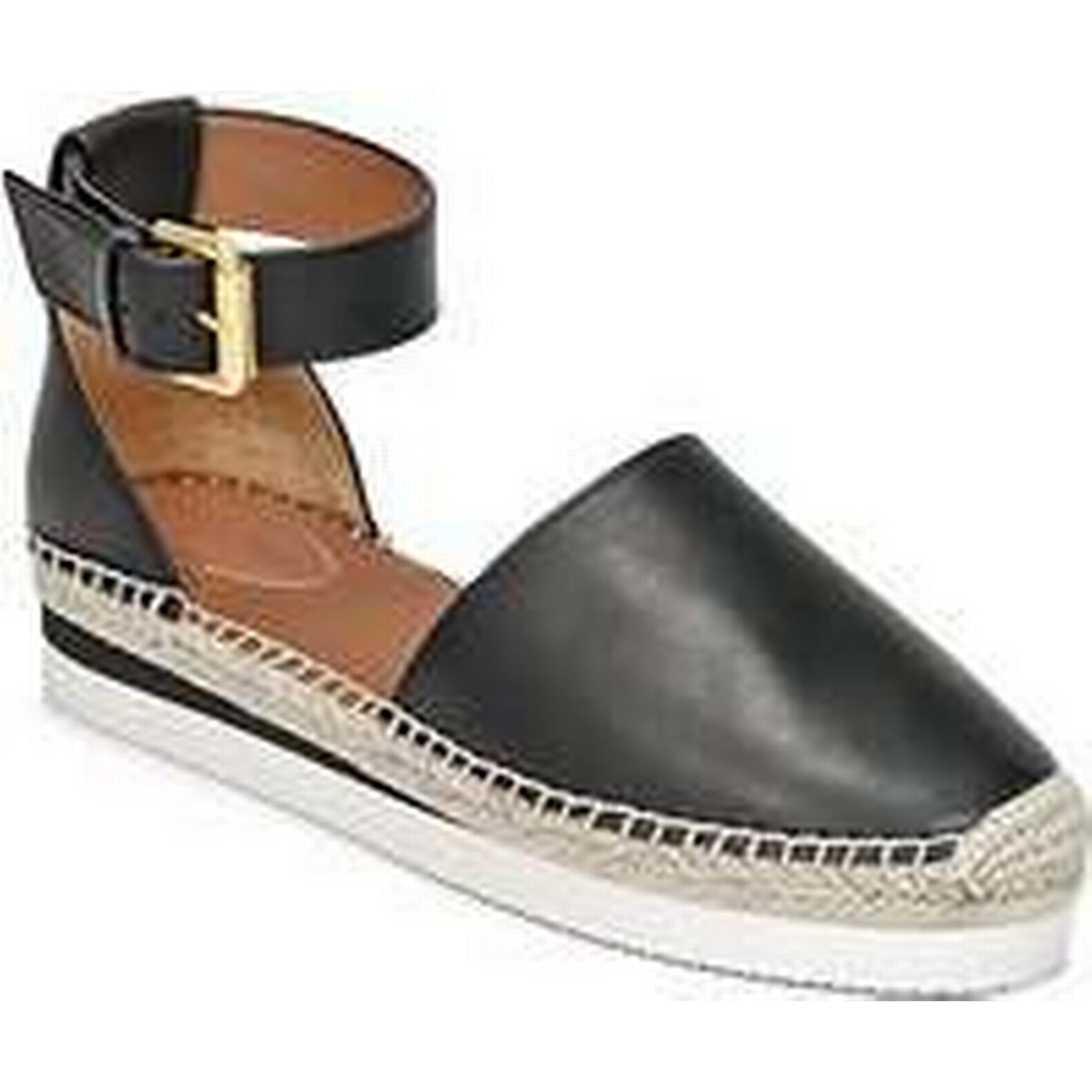 Spartoo.co.uk See Casual by Chloé SB26150 women's Espadrilles / Casual See Shoes in Black ddd7e6