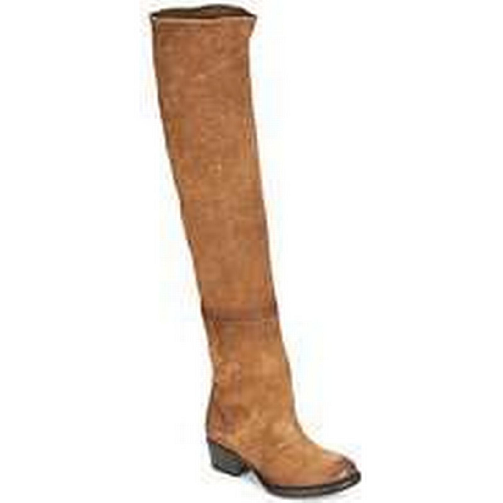 spartoo.co.uk airstep / a.s. corn femmes & #  ; mi s la mi ; - bottes dans Marron  33188b