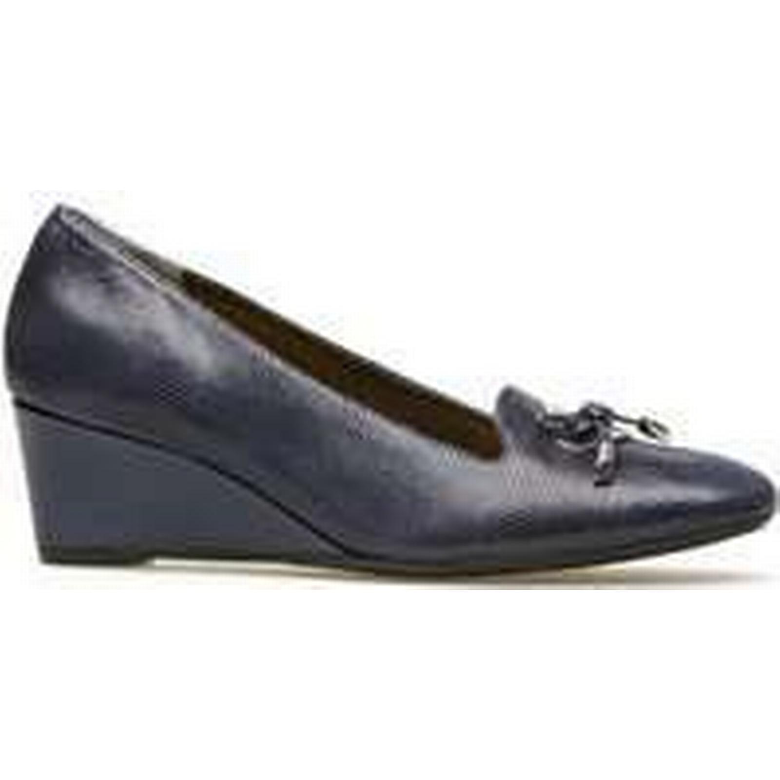 Spartoo.co.uk Van Dal Culpeper - Midnight Reptile Print Blue women's Court Shoes in Blue Print 22e177