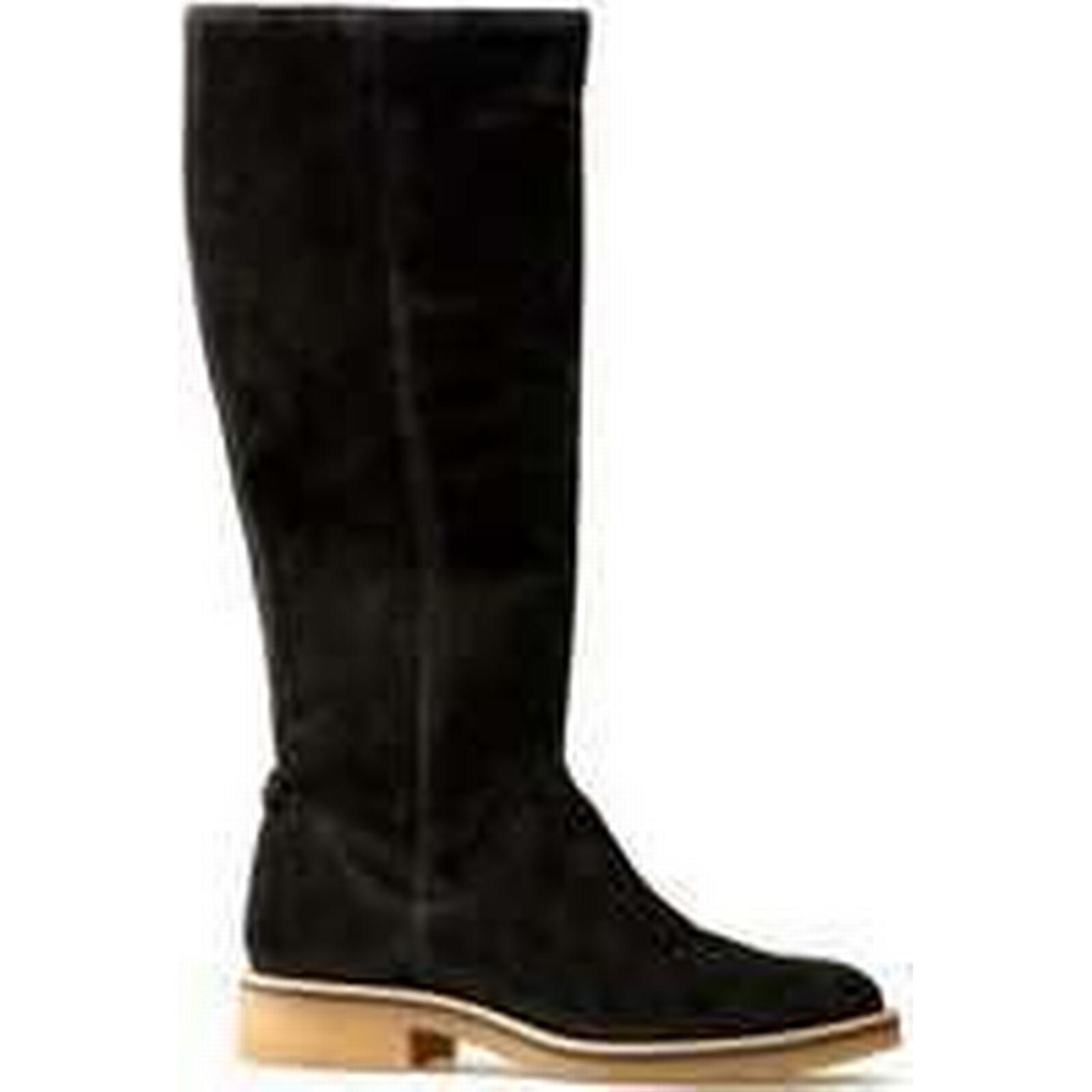 Spartoo.co.uk Van Suede Dal Glade - Black Suede Van women's High Boots in Black ba43d1