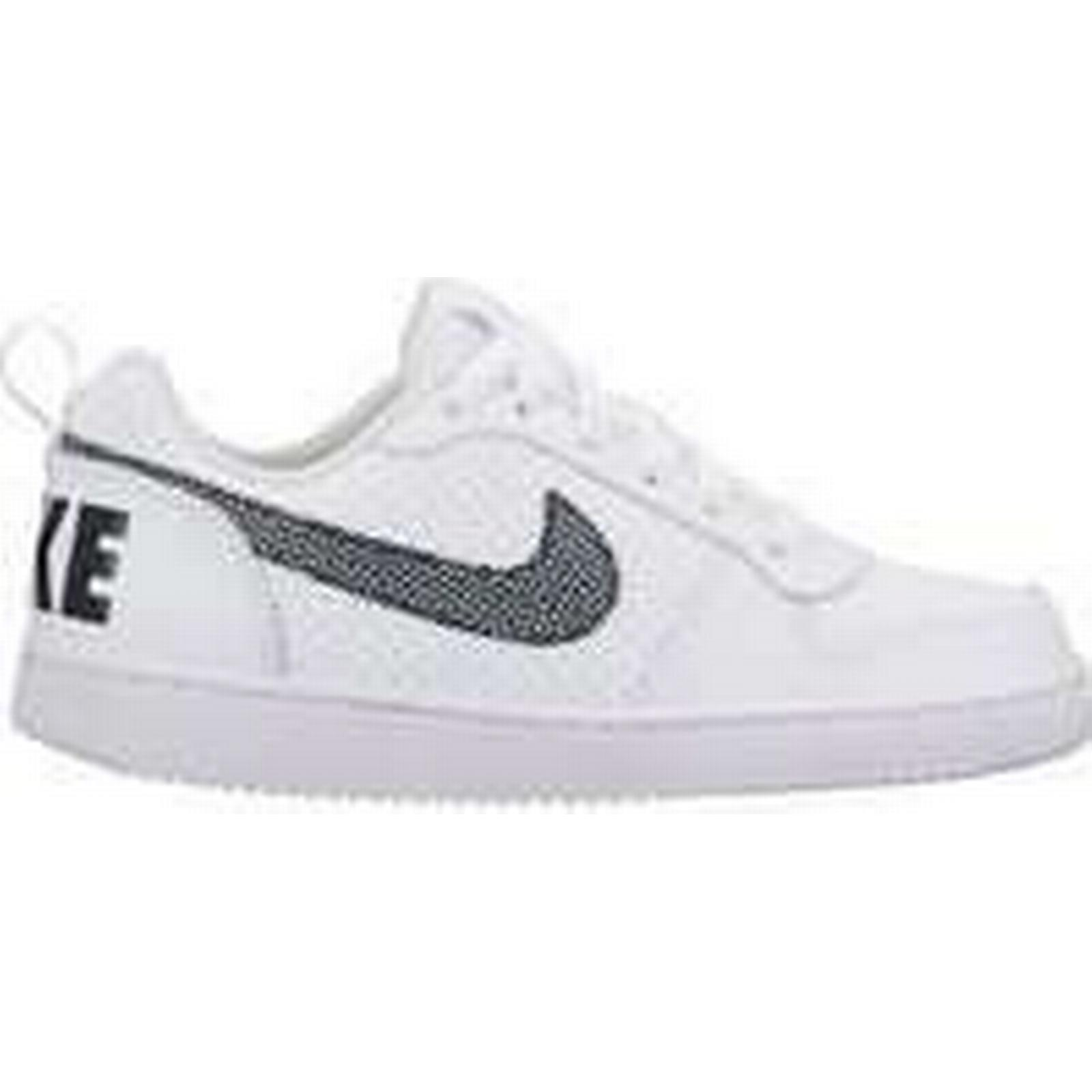 Spartoo.co.uk Nike Boys' Court Borough Low (GS) Shoe (Trainers) 839985 103 women's Shoes (Trainers) Shoe in White 442d77