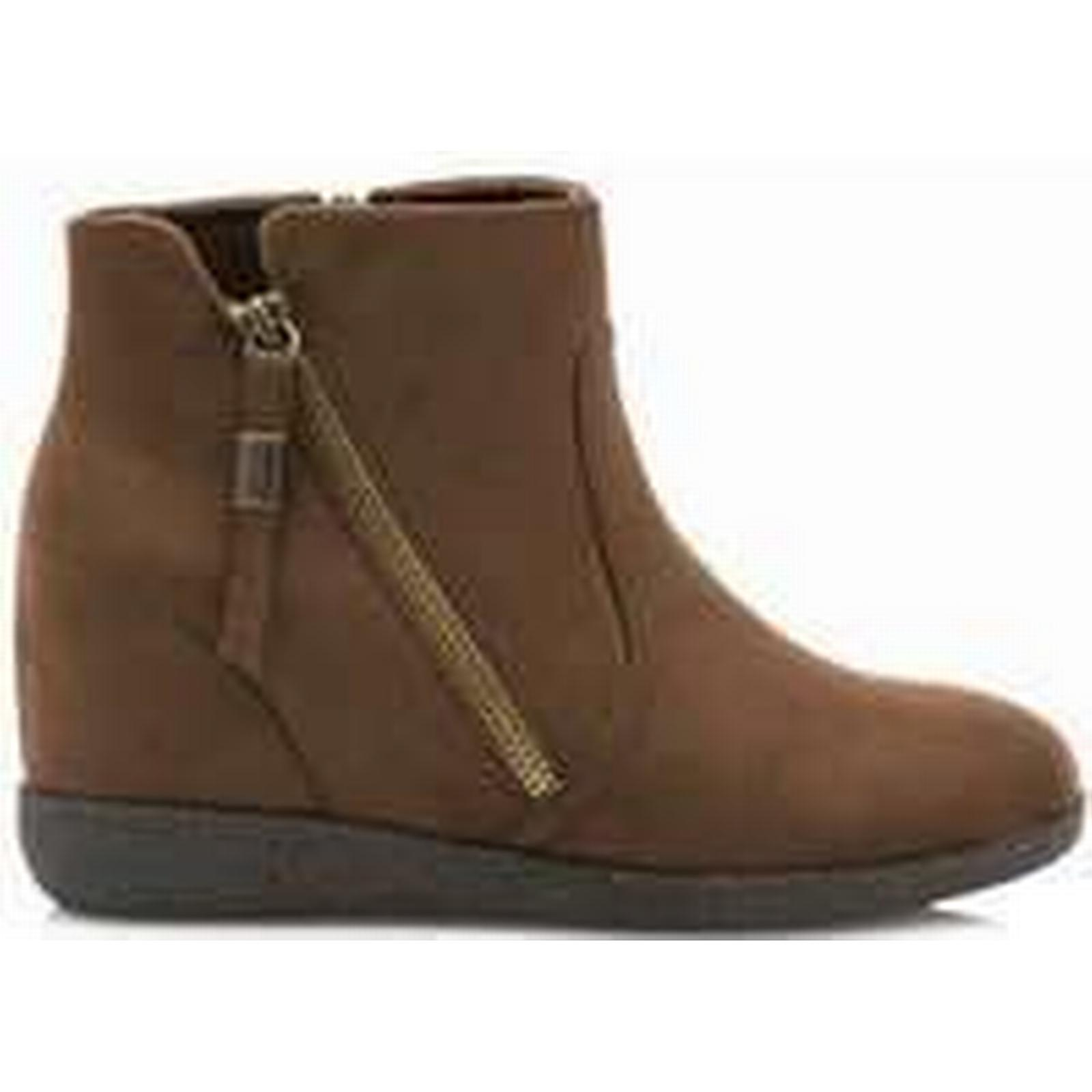 Spartoo.co.uk MTNG ANTIL MOCHA women's Brown Mid Boots in Brown women's 5e7f48