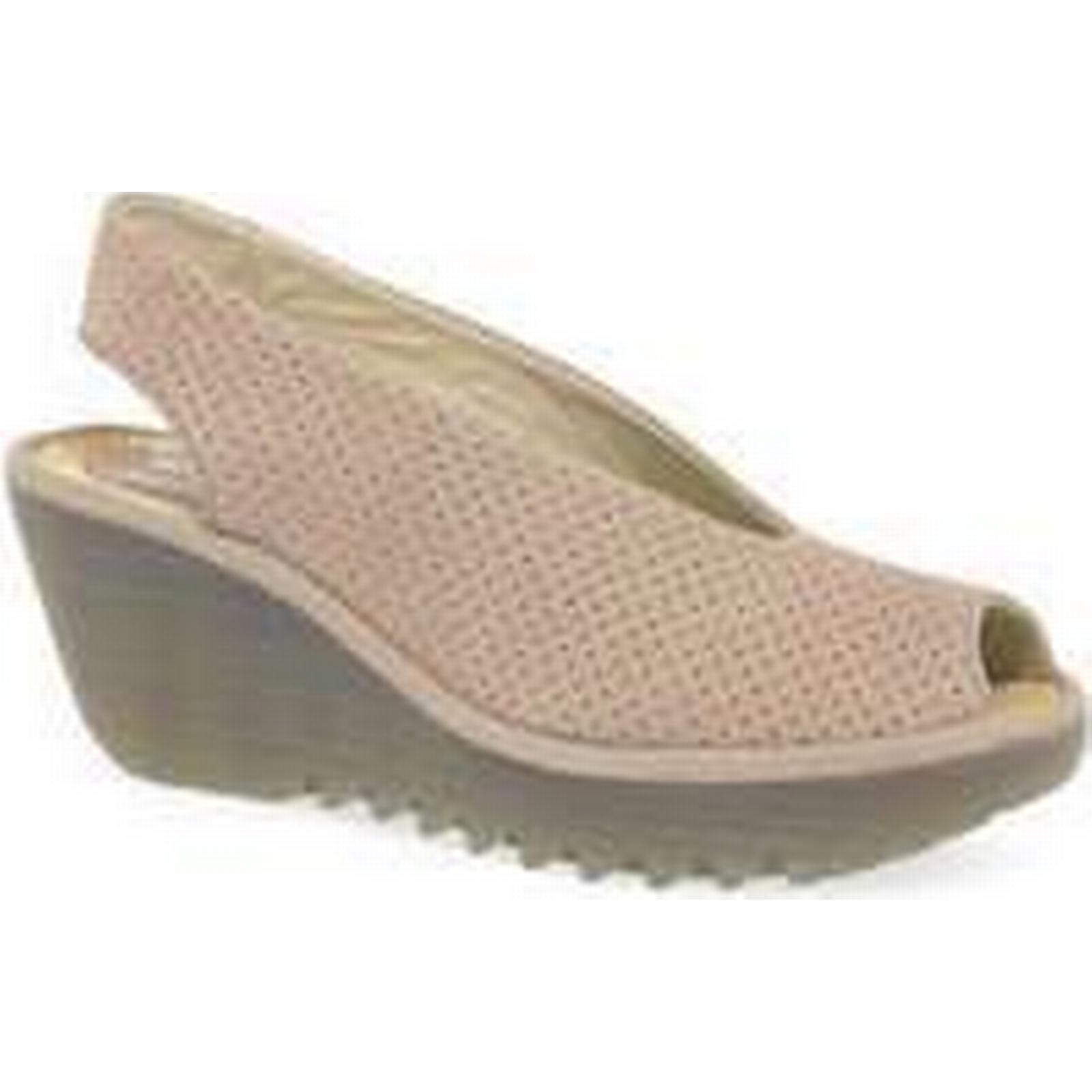 spartoo.co.uk spartoo.co.uk spartoo.co.uk fly london yazu  s wedge talon sandales femmes & #  ; s les sandales en rose 8c391d