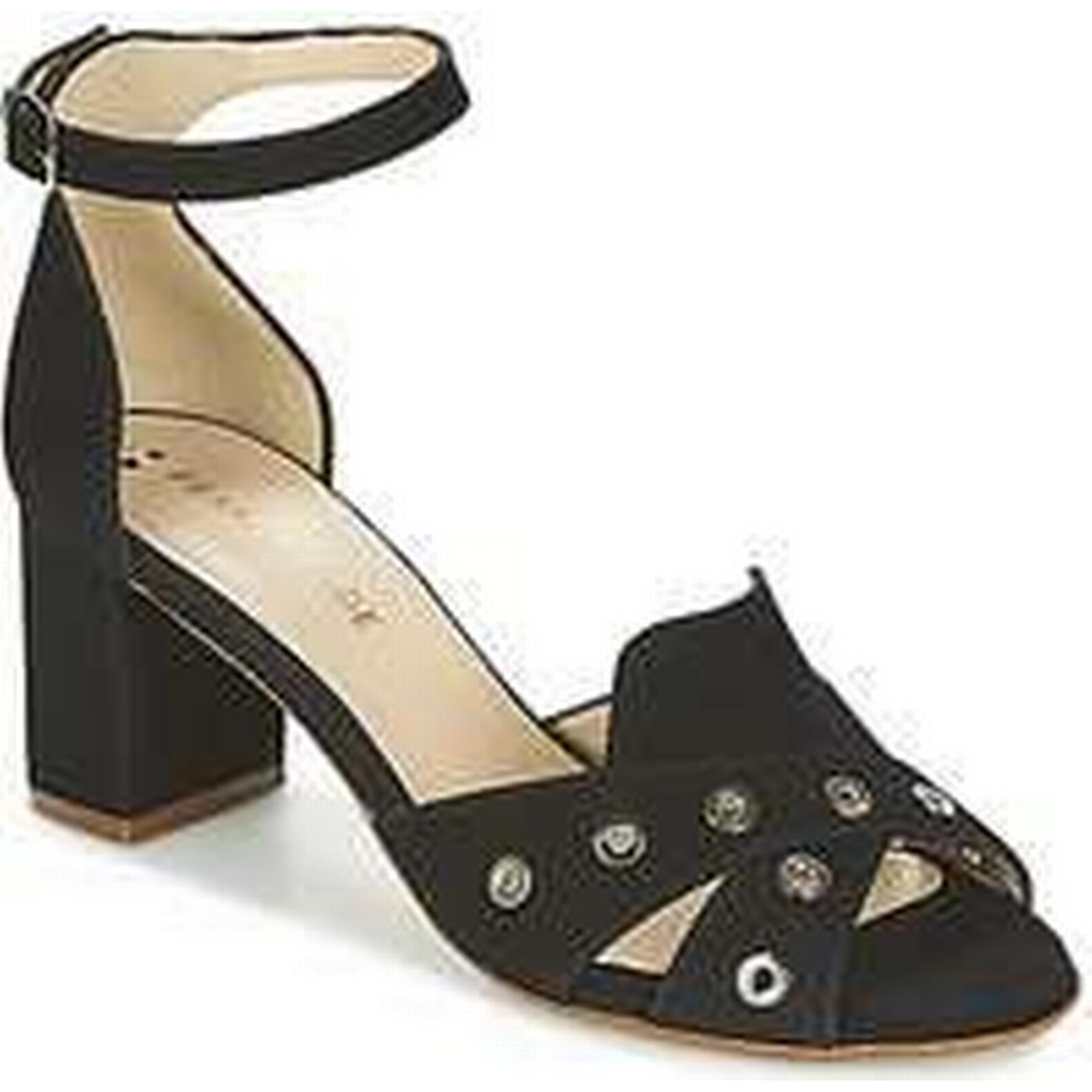 Spartoo.co.uk women's France Mode ODEON SETE women's Spartoo.co.uk Sandals in Black 360f23