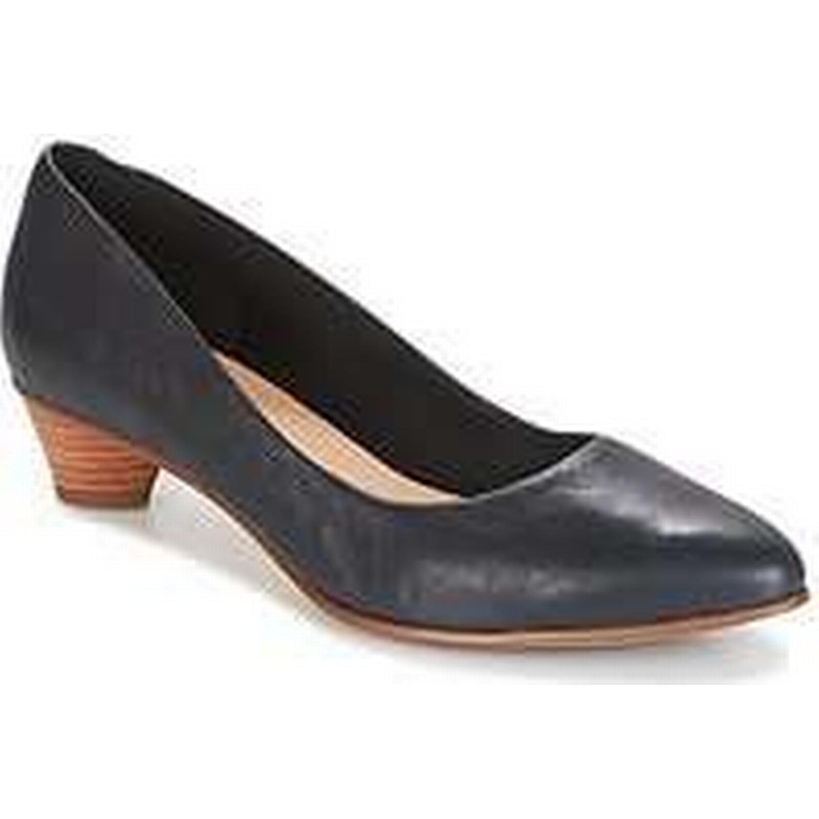 Spartoo.co.uk Court Clarks MENA BLOOM women's Court Spartoo.co.uk Shoes in Black a14e95