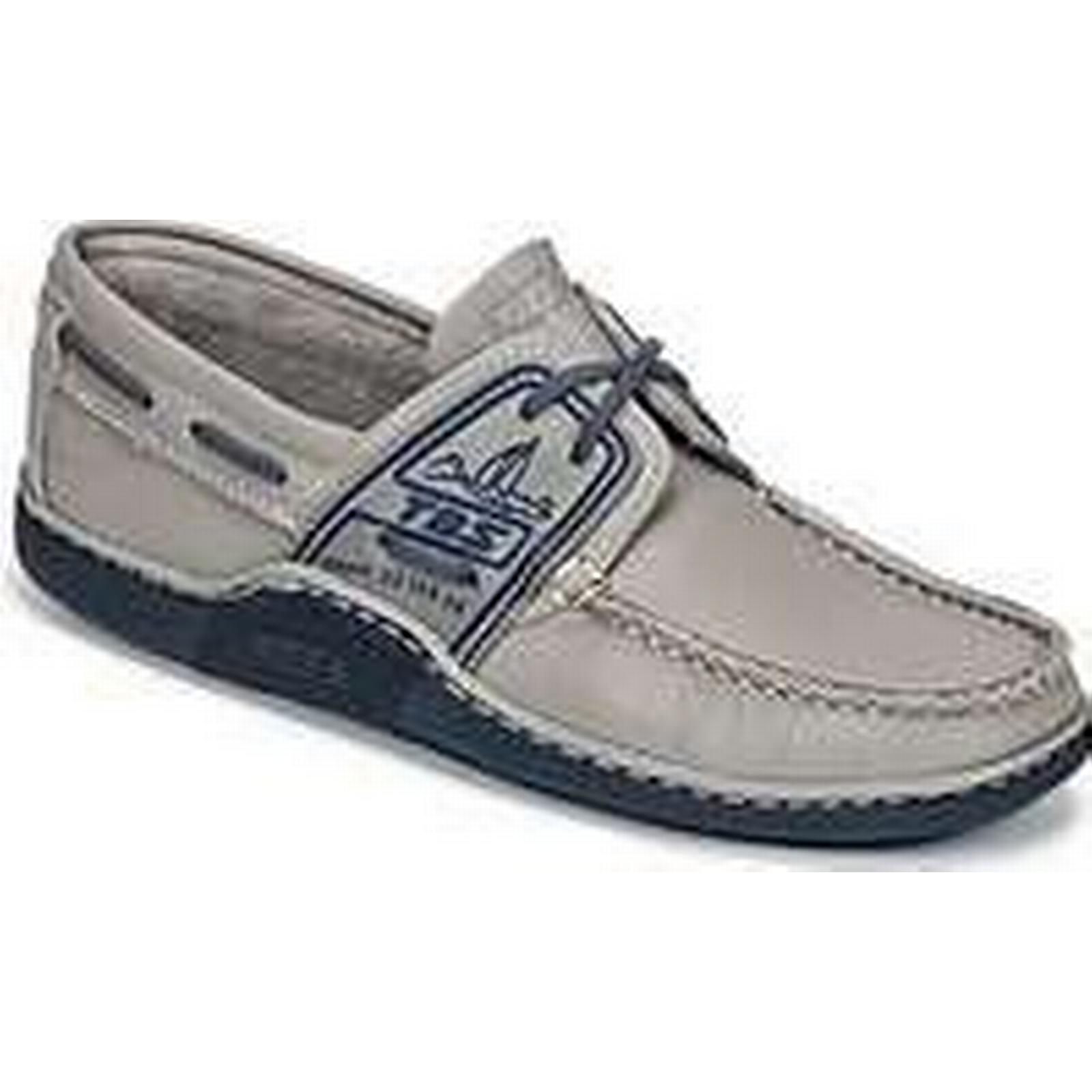 Spartoo.co.uk TBS GLOBEK men's in Boat Shoes in men's Grey 470ee3