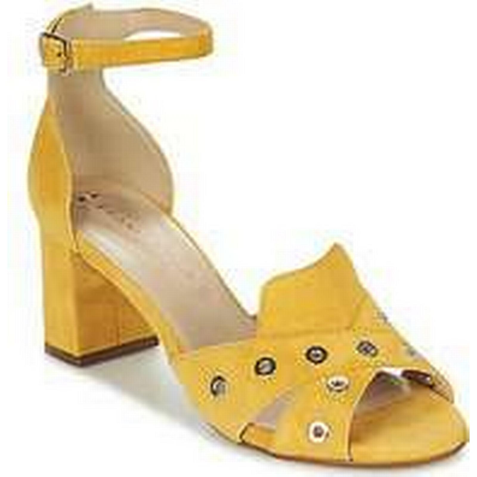 Spartoo.co.uk women's France Mode ODEON SETE women's Spartoo.co.uk Sandals in Yellow dc069c
