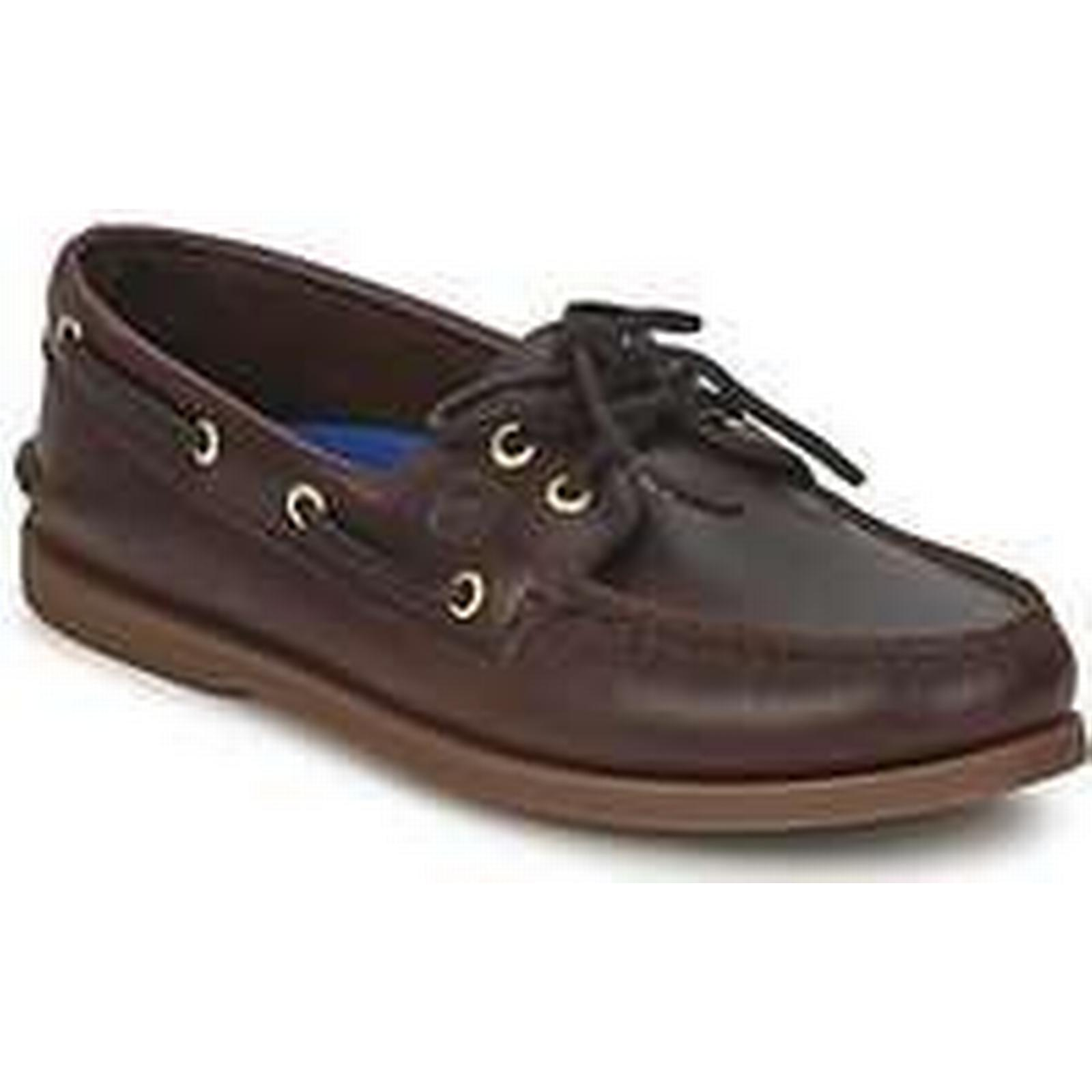 Spartoo.co.uk Sperry Top-Sider A/O in 2-EYE men's Boat Shoes in A/O Brown b982ac