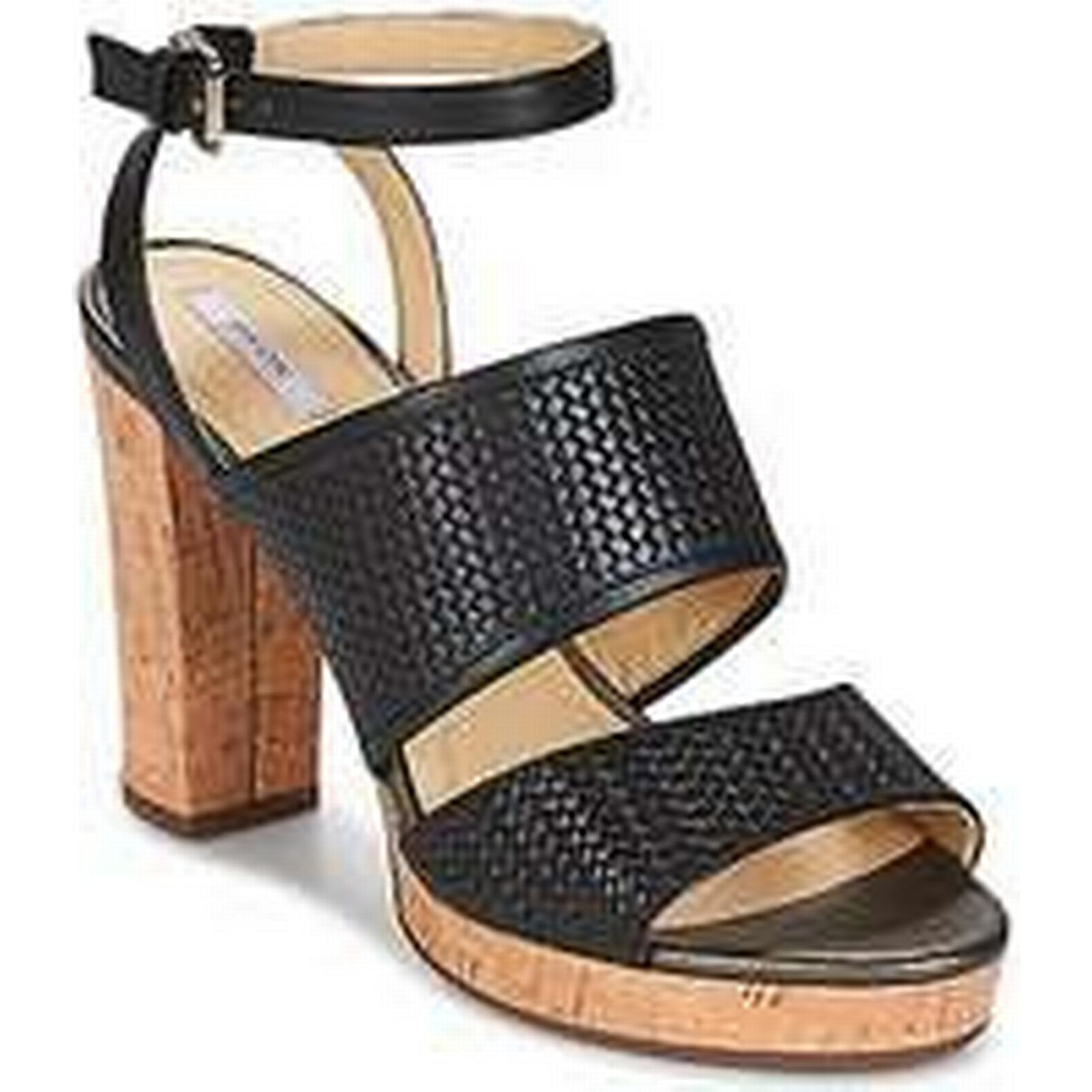 Spartoo.co.uk Geox in MAUVELLE A women's Sandals in Geox Black e17dfb