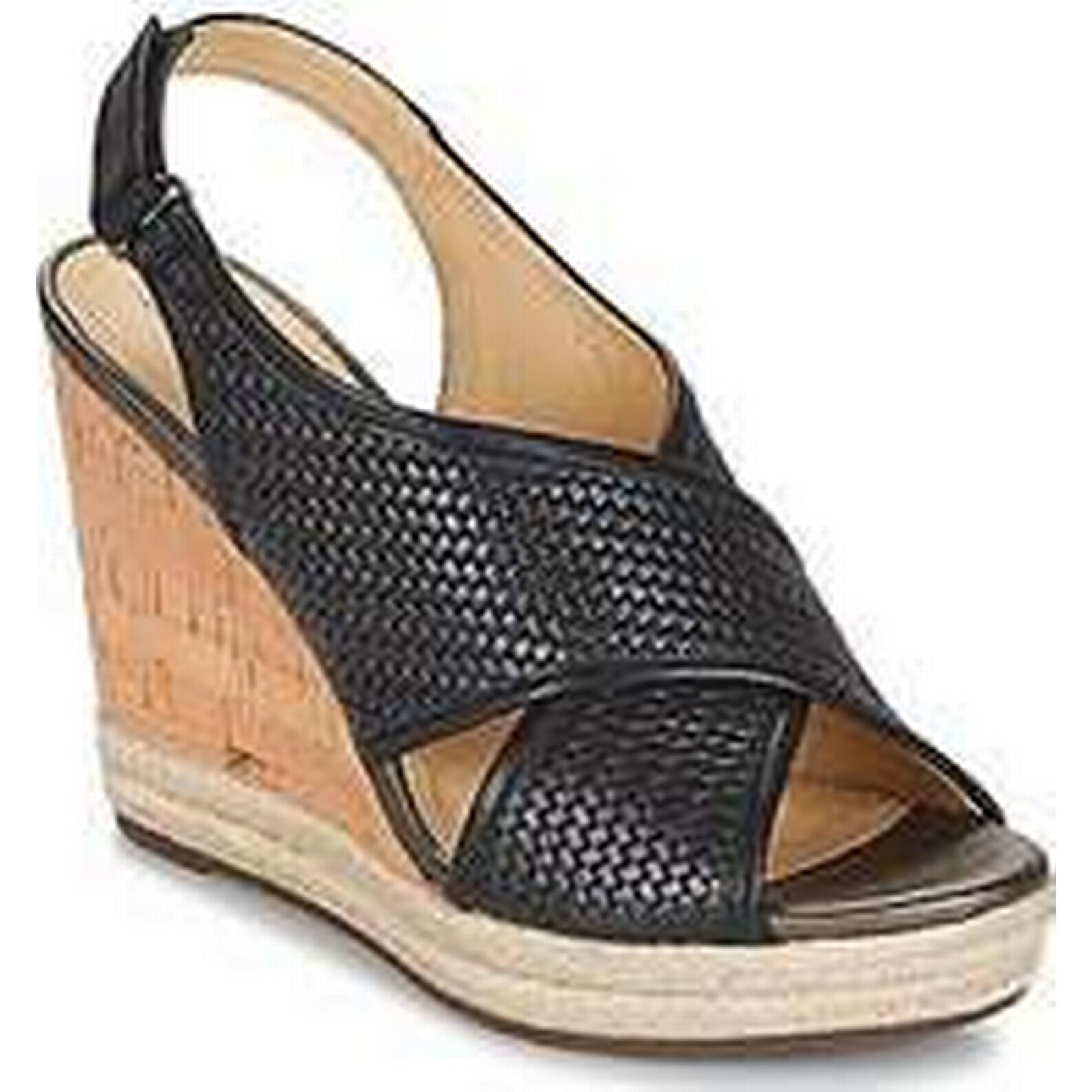 Spartoo.co.uk Geox JANIRA C in women's Sandals in C Black a4d5f8