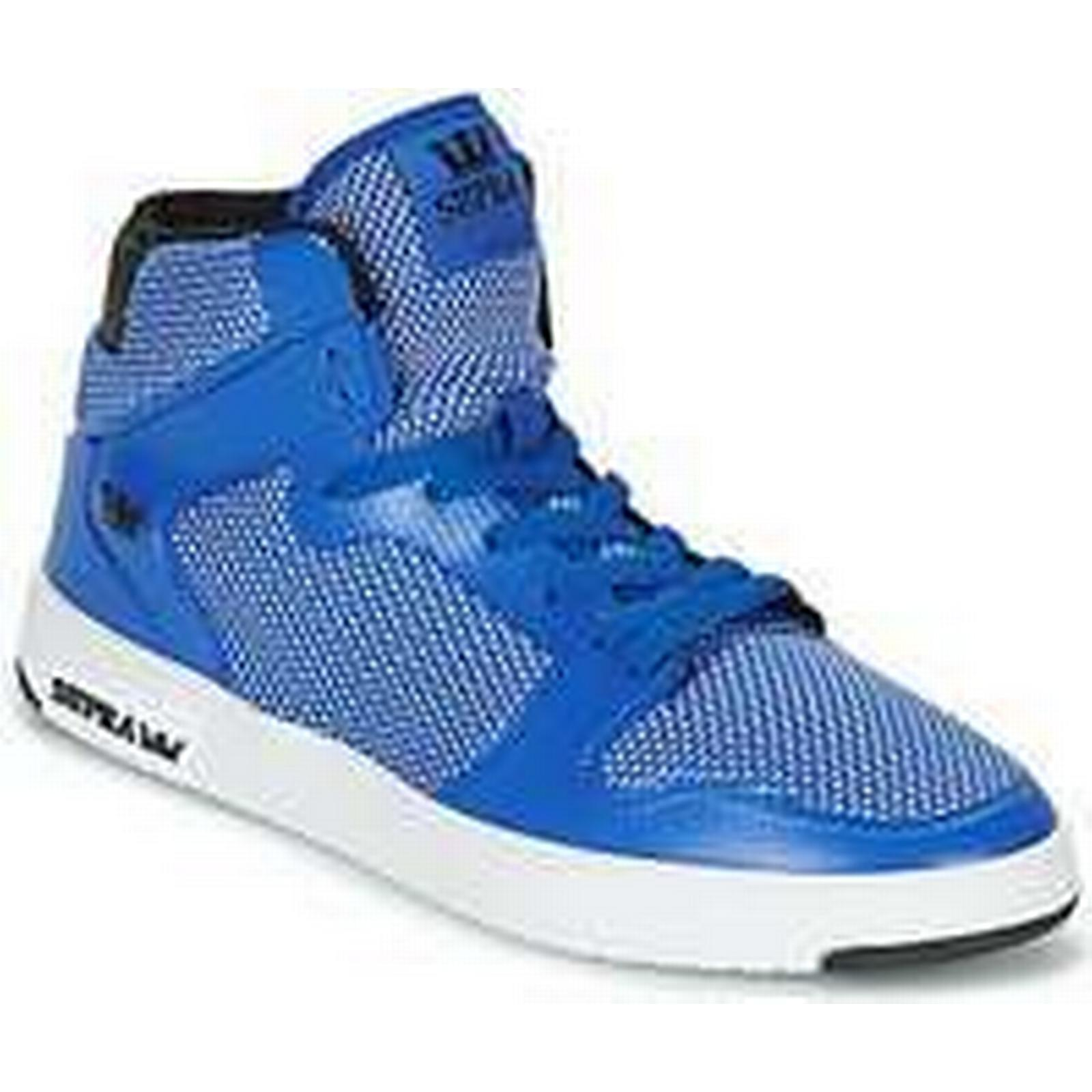 spartoo.co.uk supra vaider . hommes hommes hommes & #  ; s Chaussure s crampons formateurs en bleu 535410
