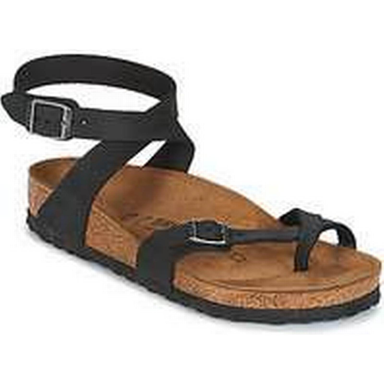 Spartoo.co.uk YARA Birkenstock YARA Spartoo.co.uk women's Sandals in Black 36c908
