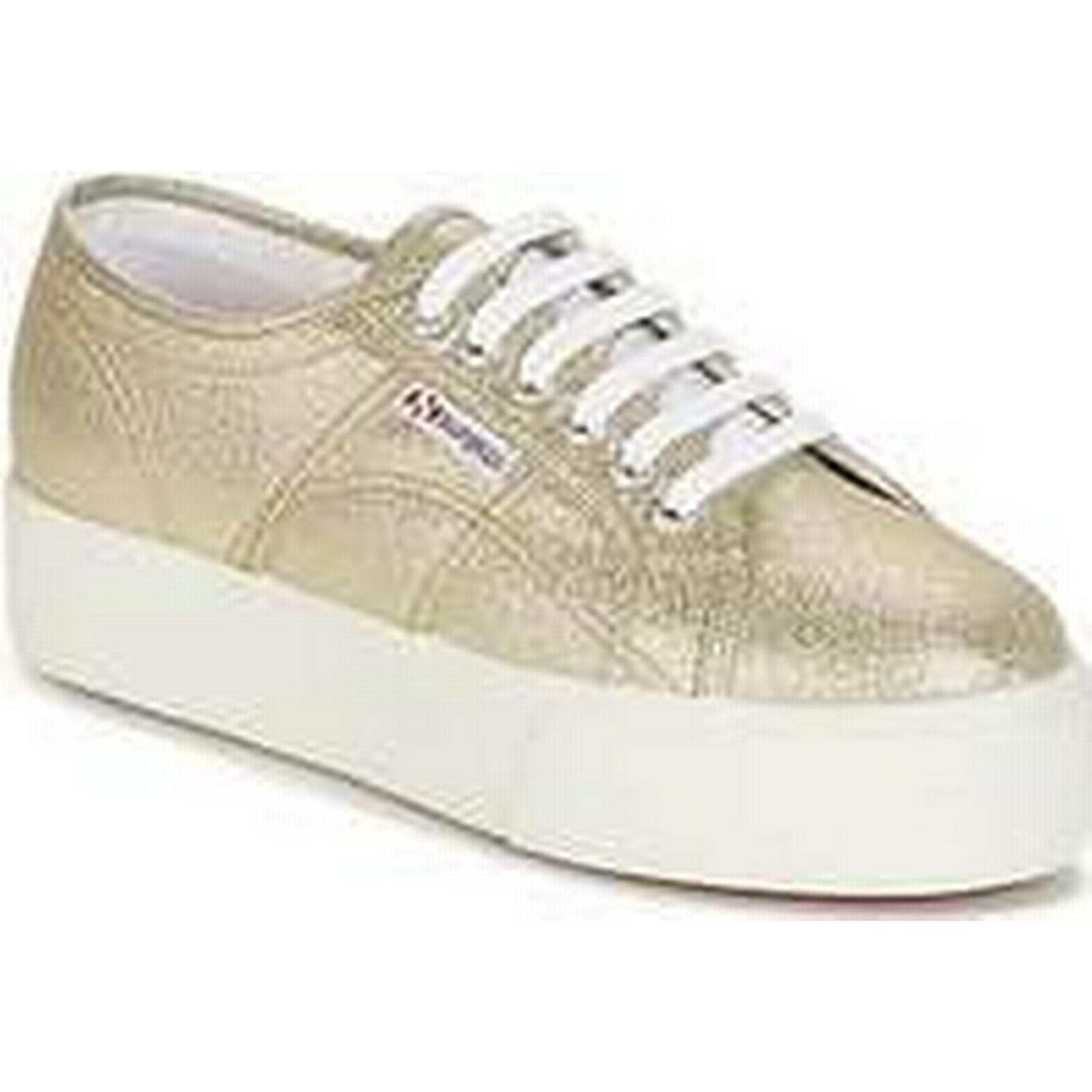 Spartoo.co.uk Superga 2790 LAME in W women's Shoes (Trainers) in LAME Gold e0316b