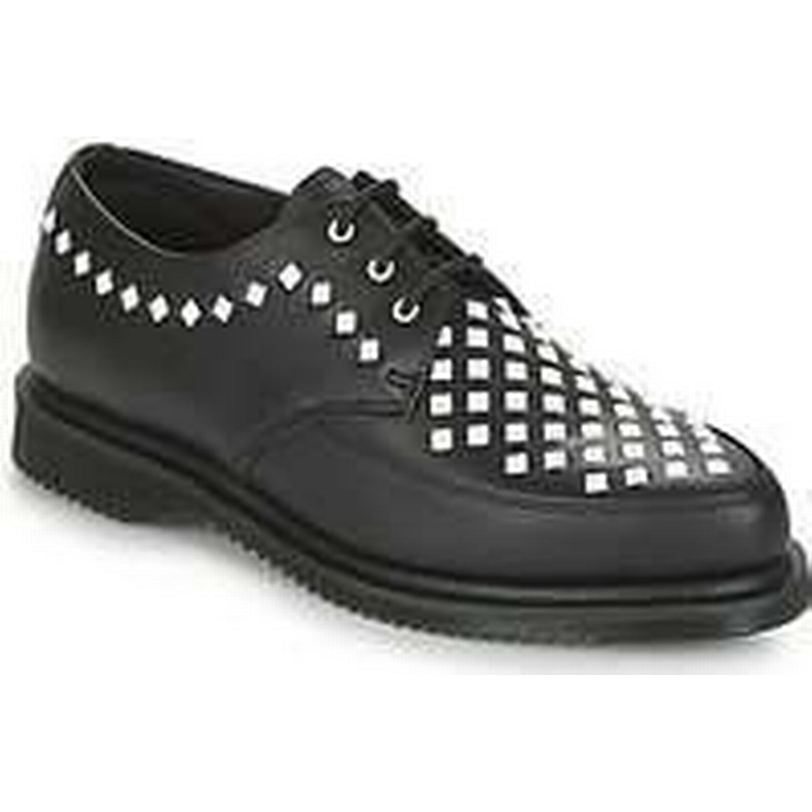 Spartoo.co.uk Dr Martens ROUSDEN in STUD CREEPER women's Casual Shoes in ROUSDEN Black a69859