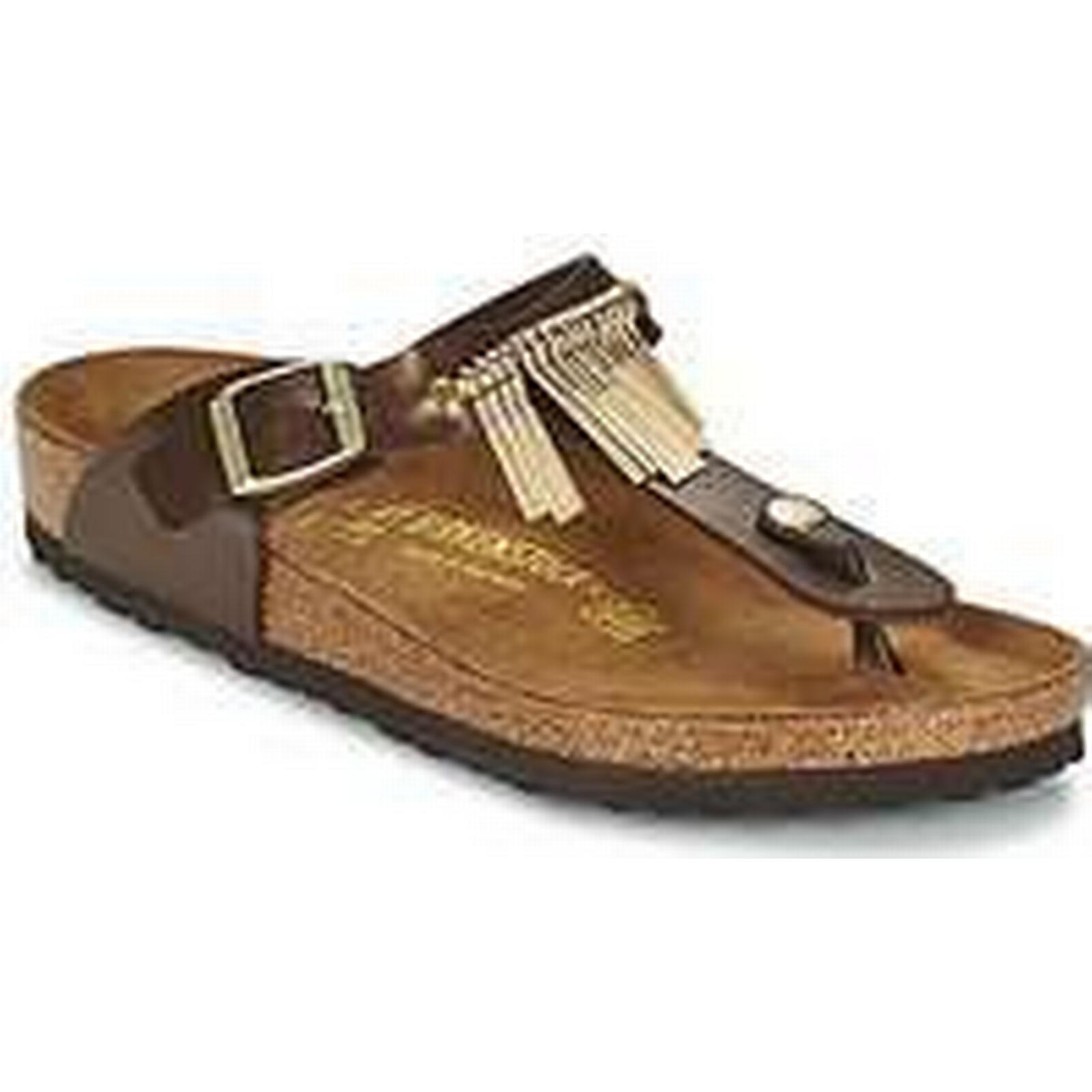 395ab90e63 Spartoo.co.uk Birkenstock GIZEH FRINGE women's Flip Flip Flip flops /  Sandals ...